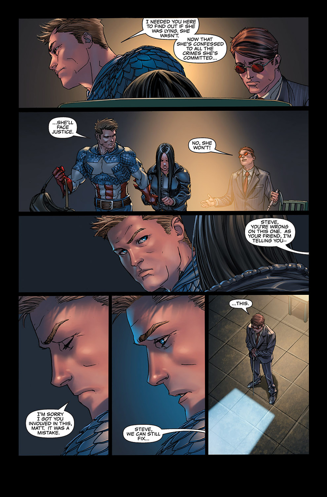 Read online X-23: Target X comic -  Issue #6 - 24