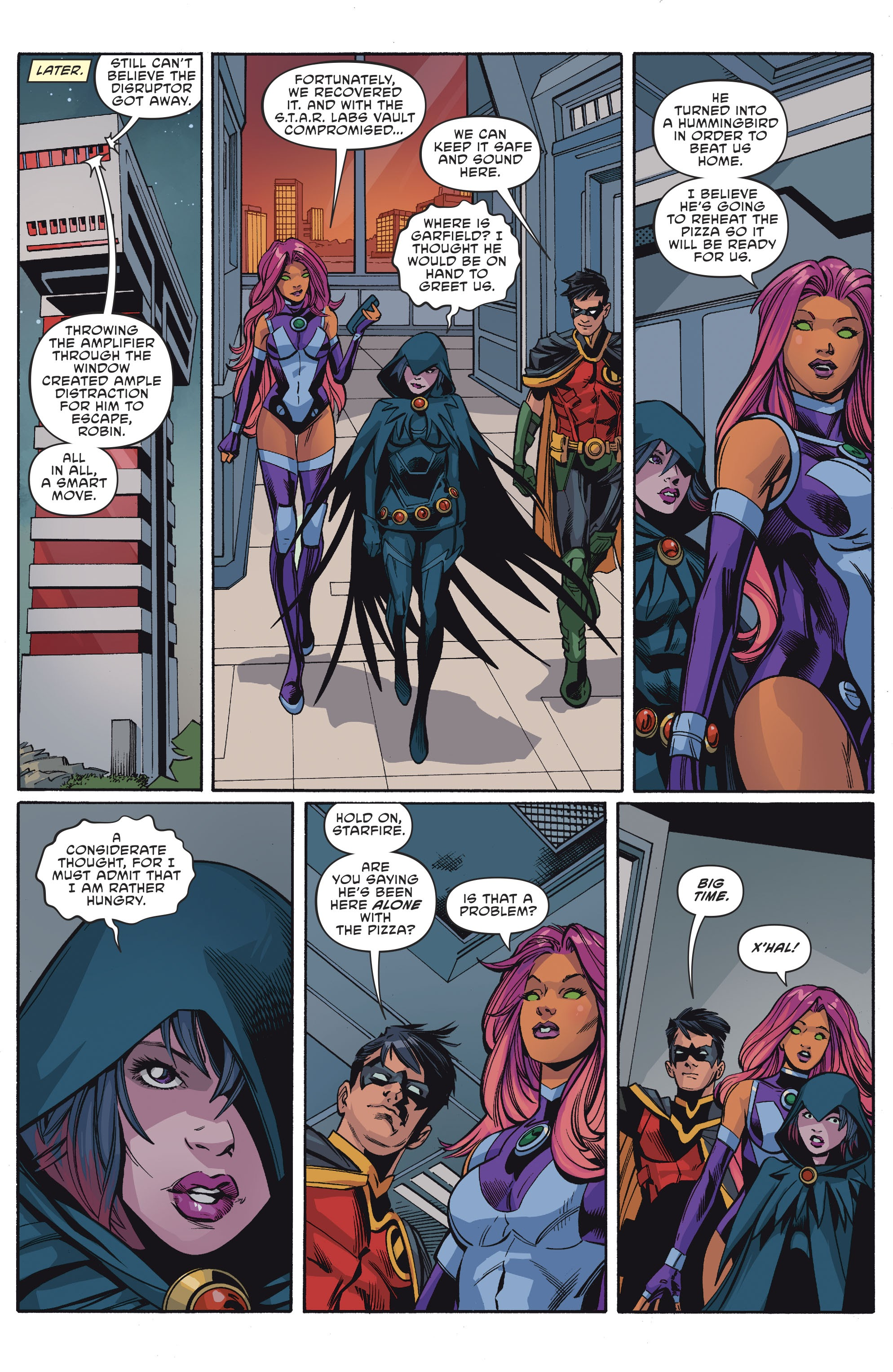 Titans: Burning Rage #1 #1 - English 12