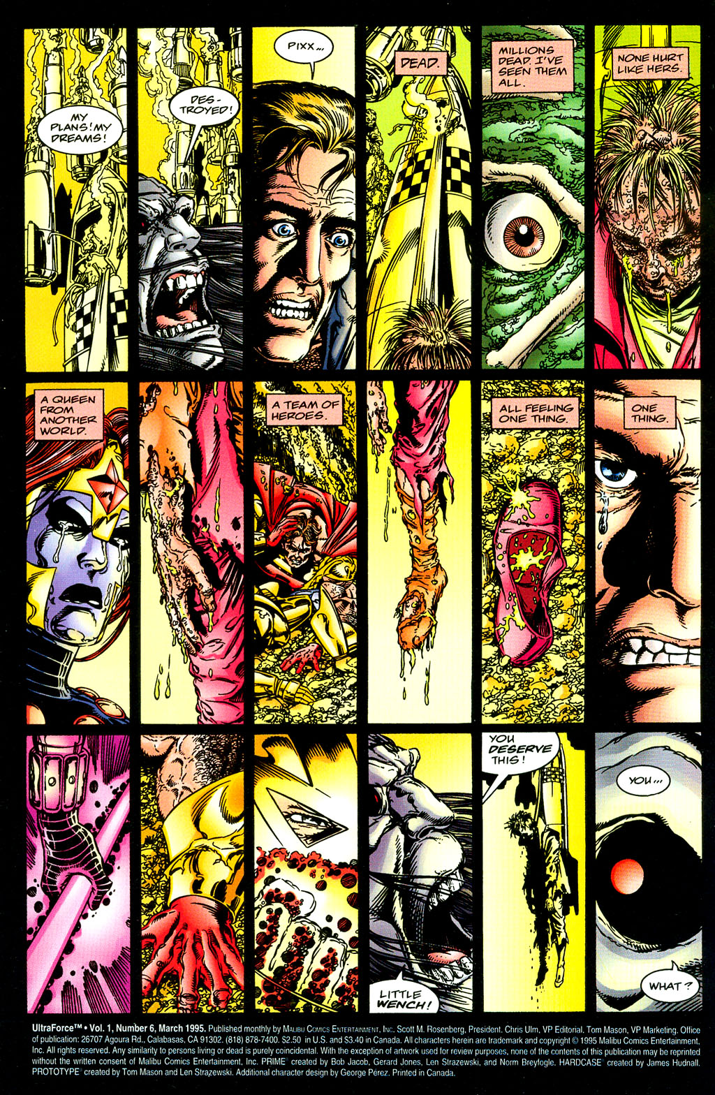 Read online UltraForce (1994) comic -  Issue #6 - 2