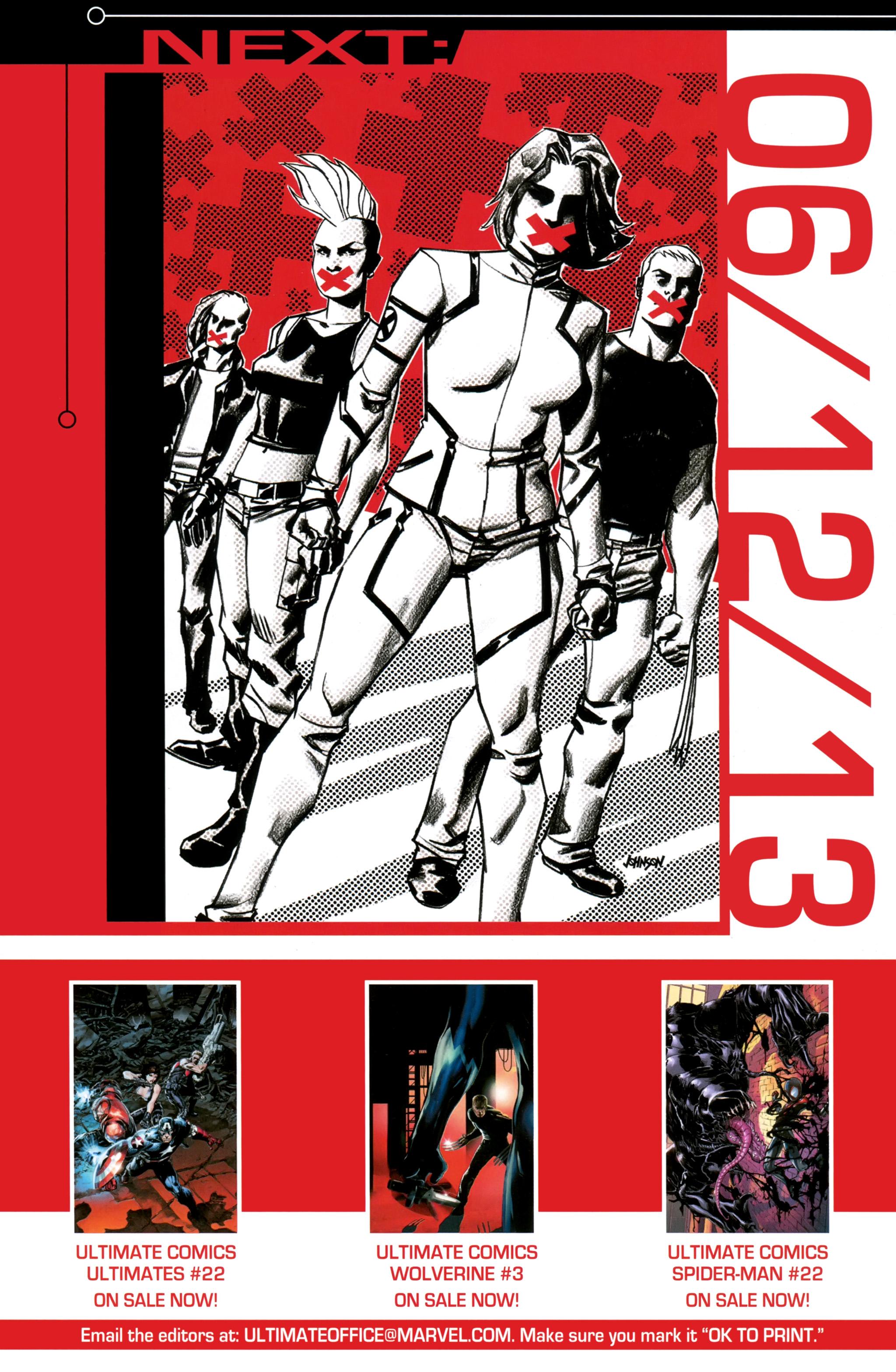 Read online Ultimate Comics X-Men comic -  Issue #26 - 24