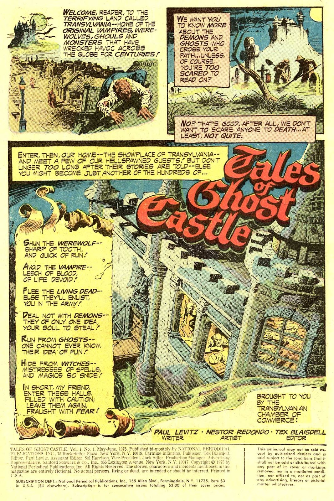 Read online Tales of Ghost Castle comic -  Issue #1 - 3