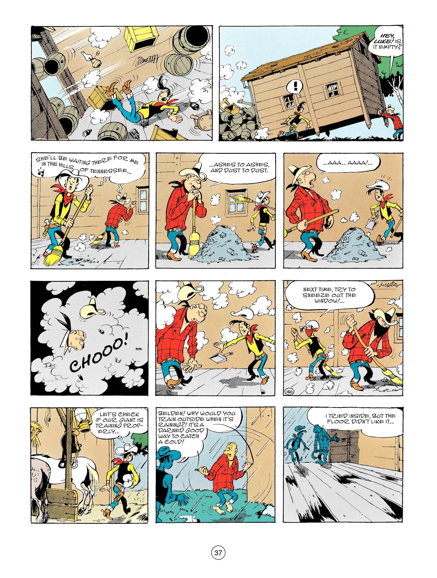 Read online A Lucky Luke Adventure comic -  Issue #56 - 37