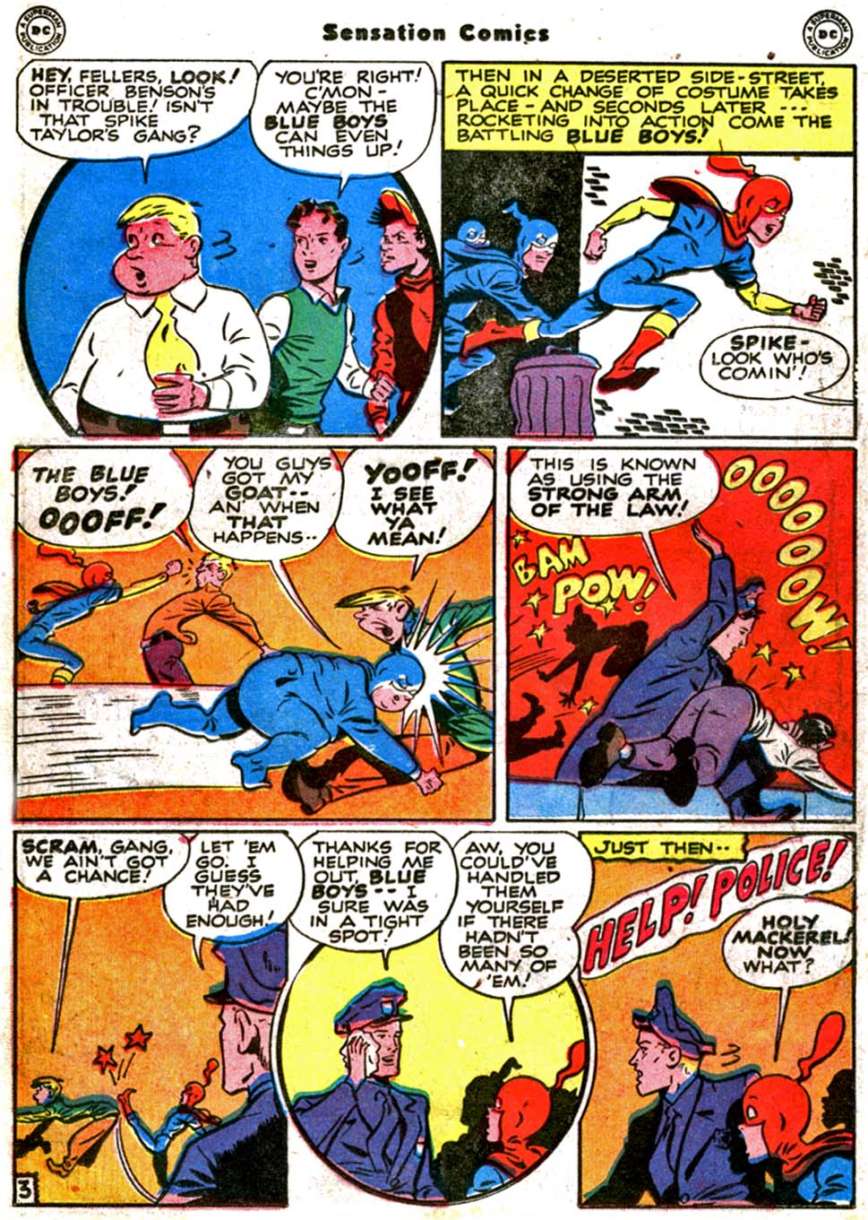 Read online Sensation (Mystery) Comics comic -  Issue #64 - 18