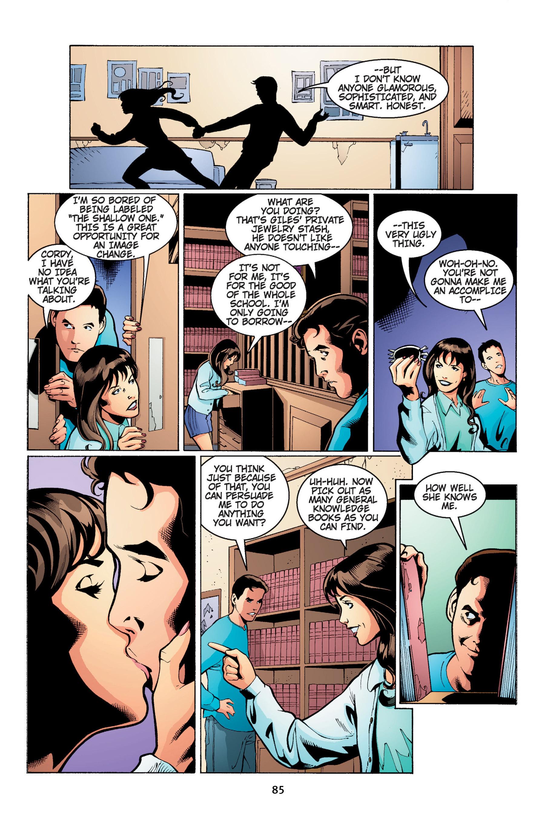 Read online Buffy the Vampire Slayer: Omnibus comic -  Issue # TPB 4 - 86
