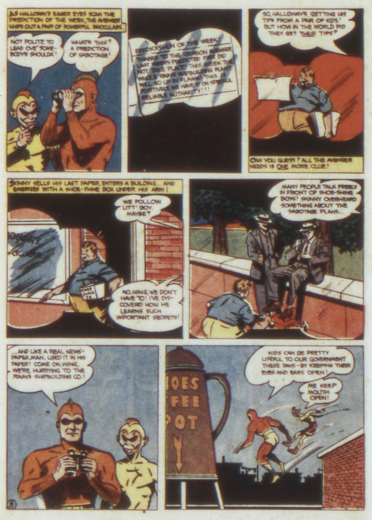 Read online Detective Comics (1937) comic -  Issue #74 - 38