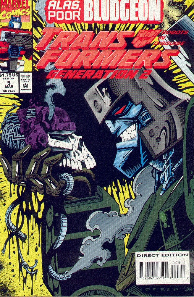 Read online Transformers: Generation 2 comic -  Issue #5 - 1