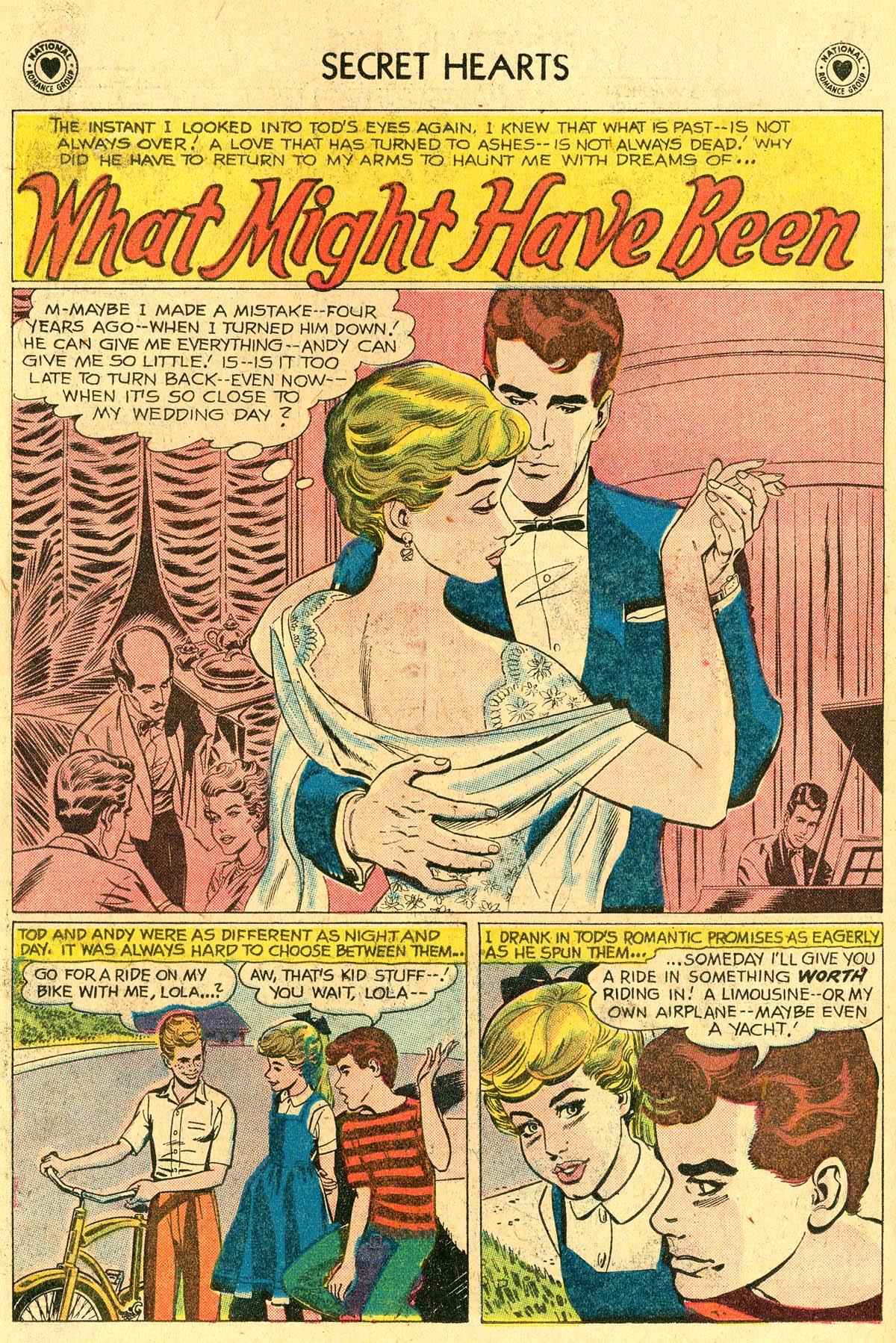 Read online Secret Hearts comic -  Issue #60 - 10