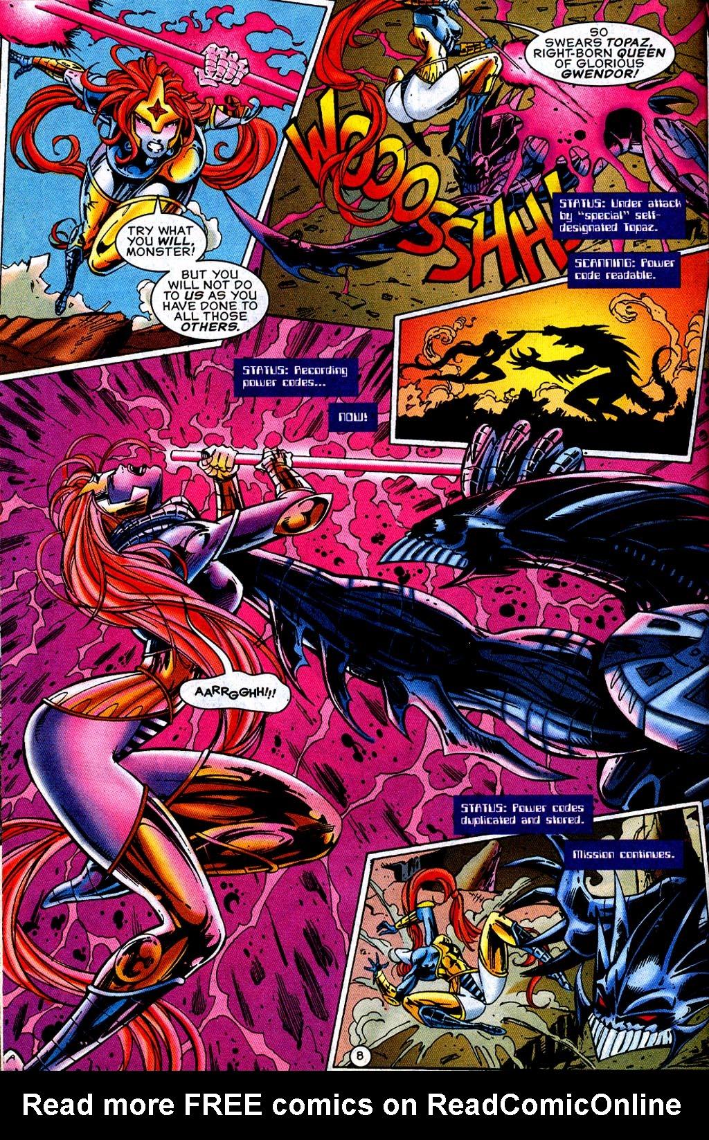 Read online UltraForce (1995) comic -  Issue #12 - 10