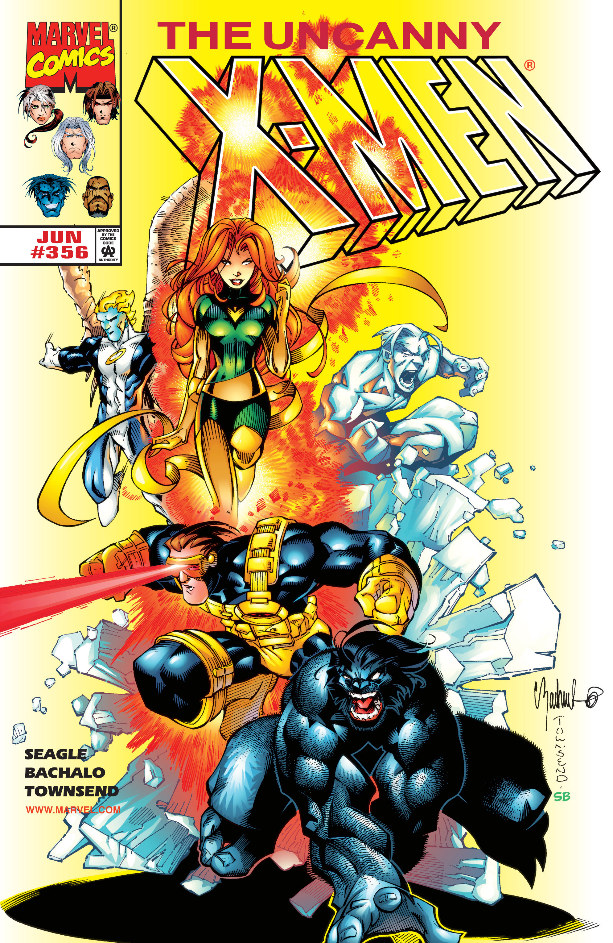 Read online Uncanny X-Men (1963) comic -  Issue #356 - 1
