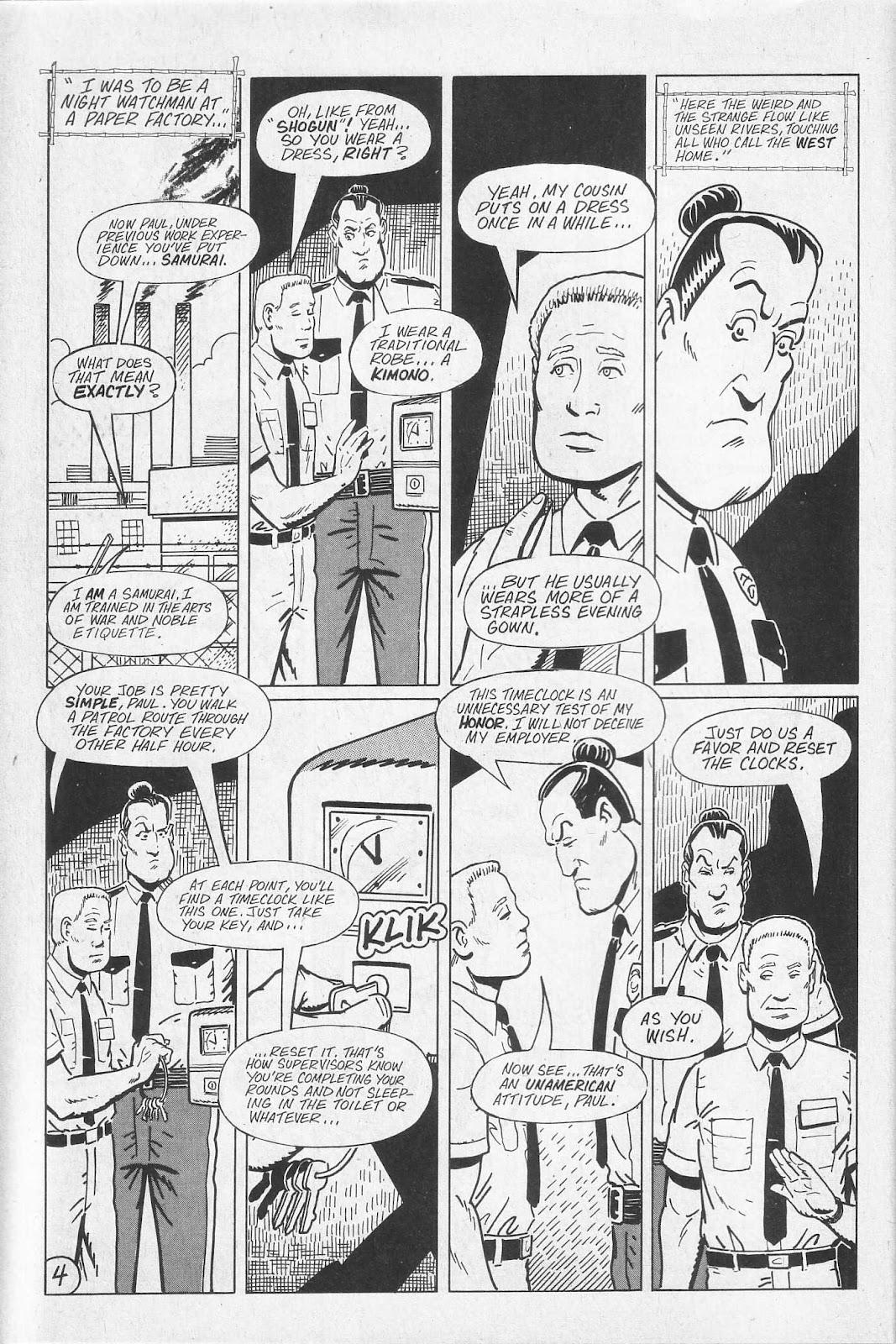 Read online Paul the Samurai (1991) comic -  Issue # TPB - 10
