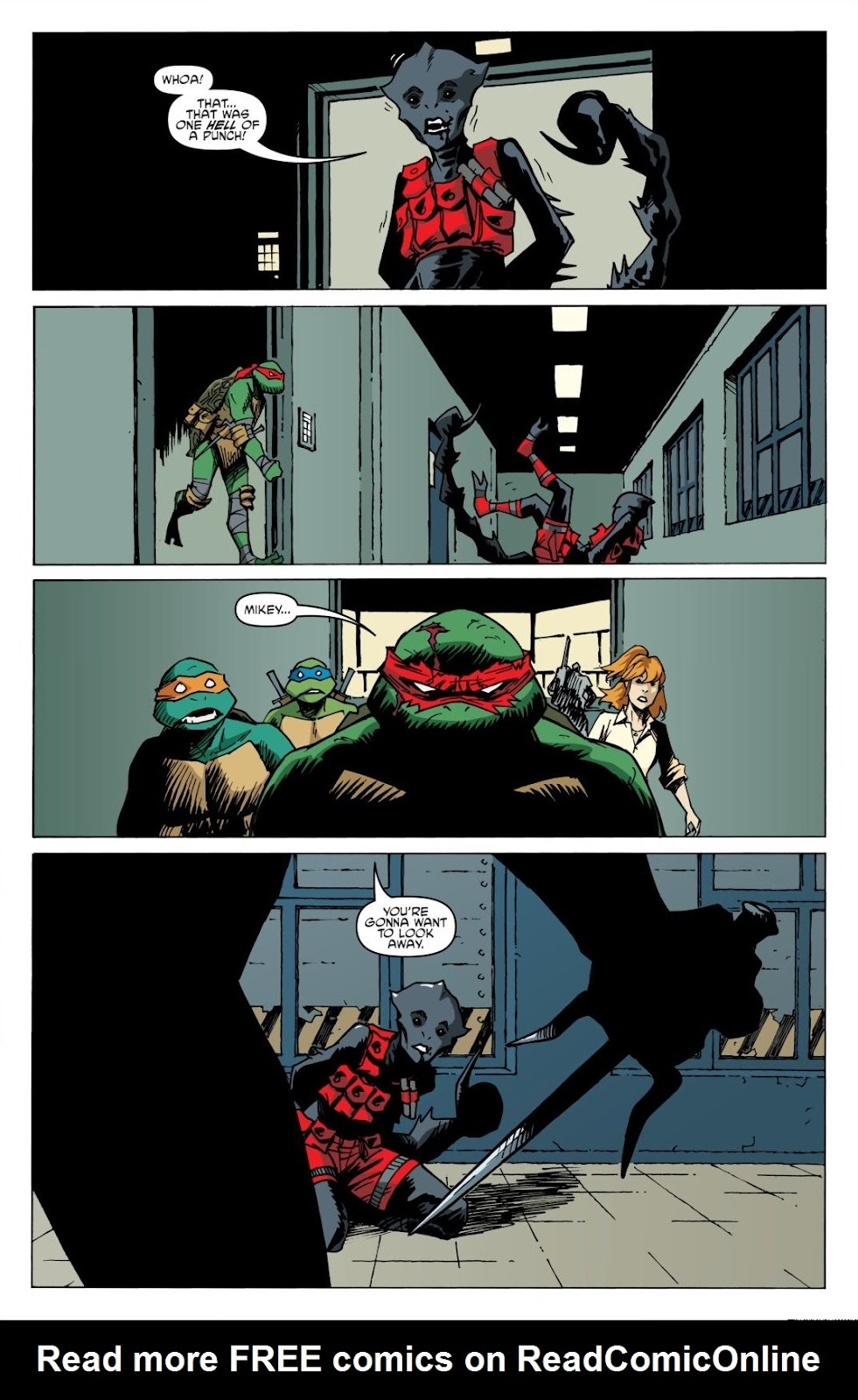 Read online Teenage Mutant Ninja Turtles: The IDW Collection comic -  Issue # TPB 8 (Part 2) - 57