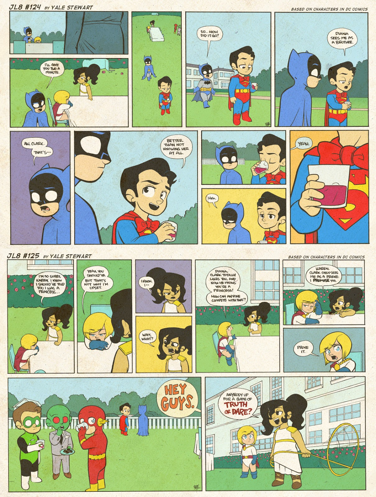 Read online JL8 – The Complete Collection comic -  Issue # TPB (Part 1) - 66