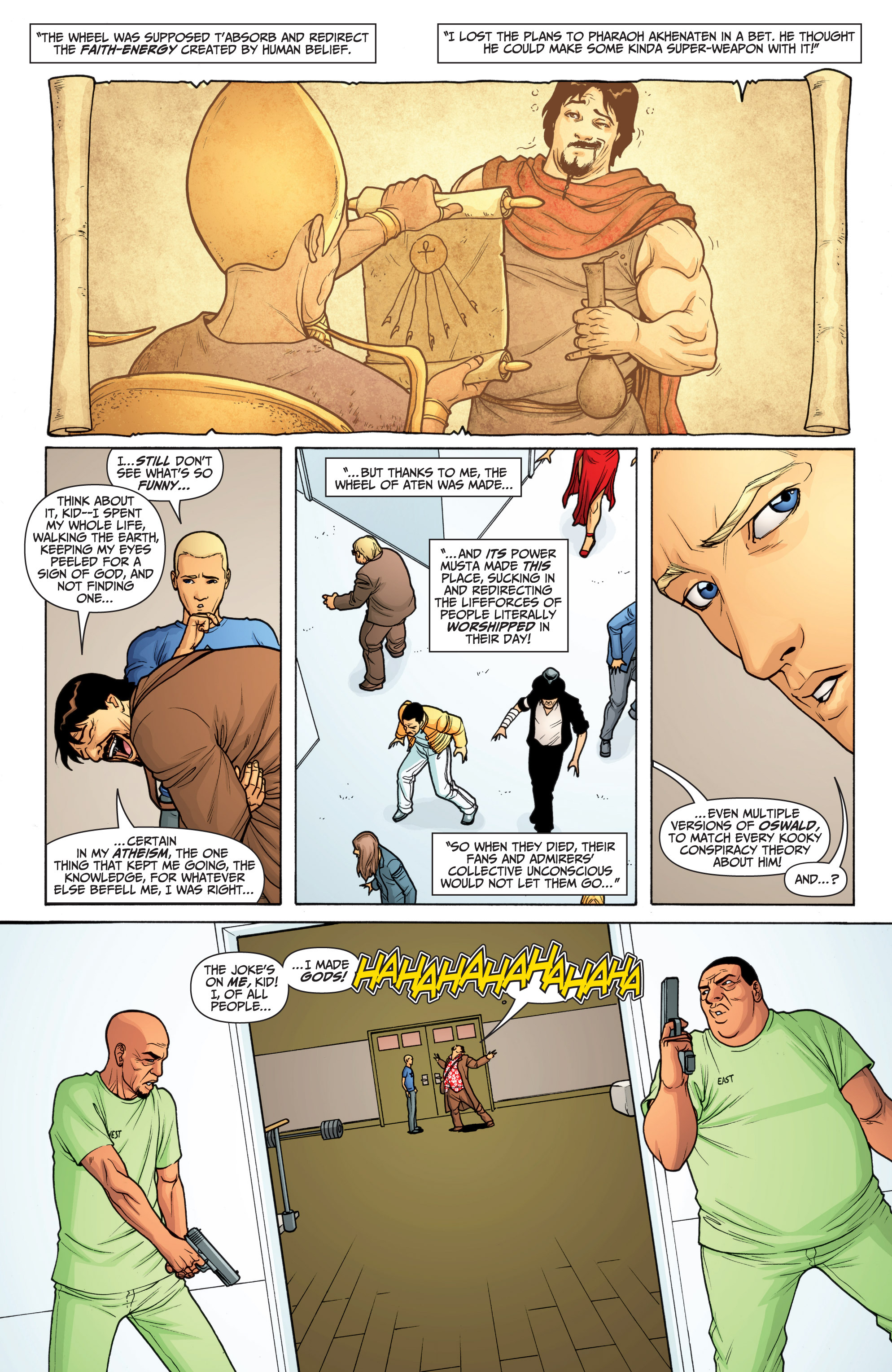 Read online Archer and Armstrong comic -  Issue #Archer and Armstrong _TPB 6 - 45