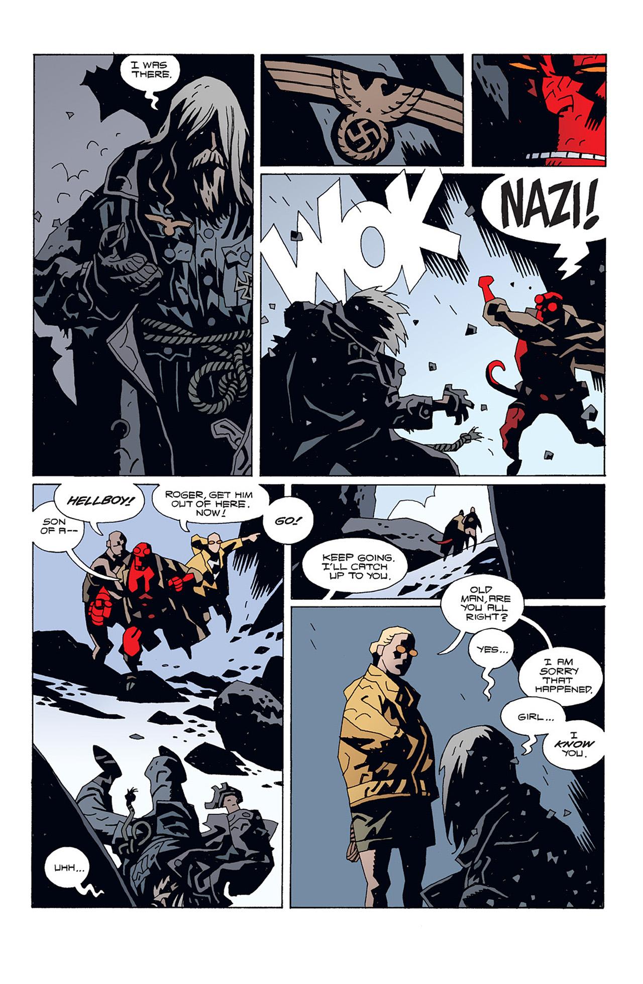 Read online Hellboy: Conqueror Worm comic -  Issue #1 - 21
