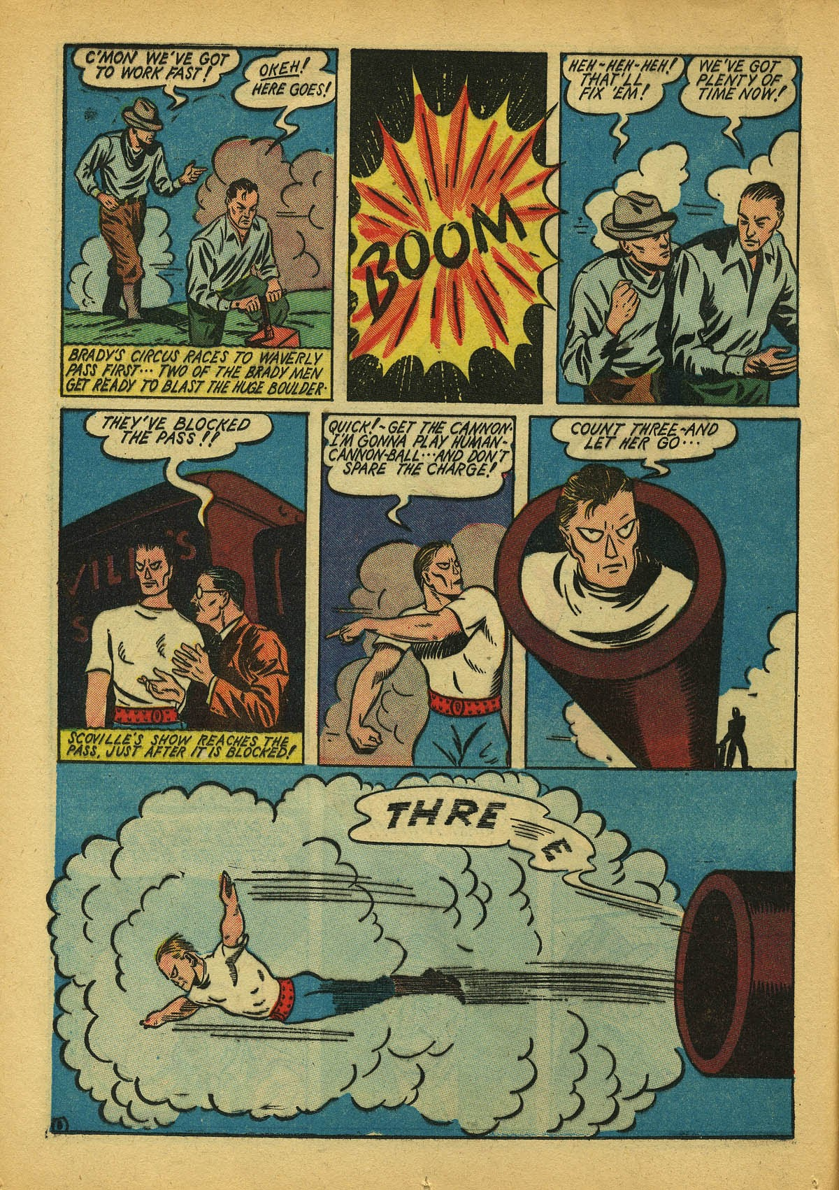 Read online Amazing Man Comics comic -  Issue #22 - 23