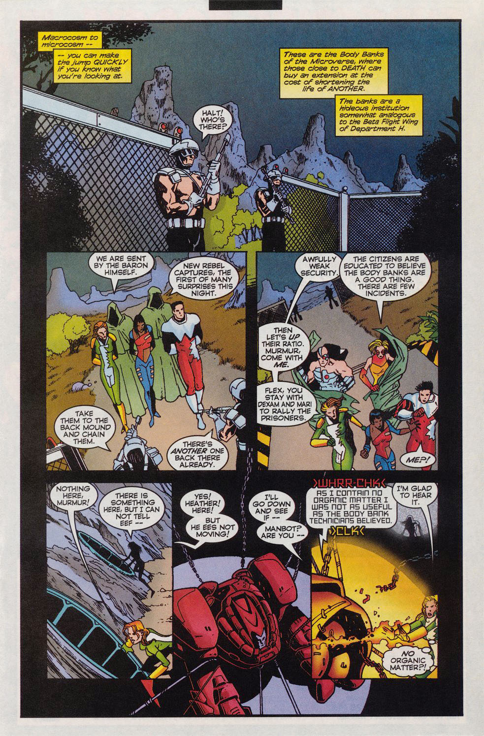 Read online Alpha Flight (1997) comic -  Issue #11 - 12