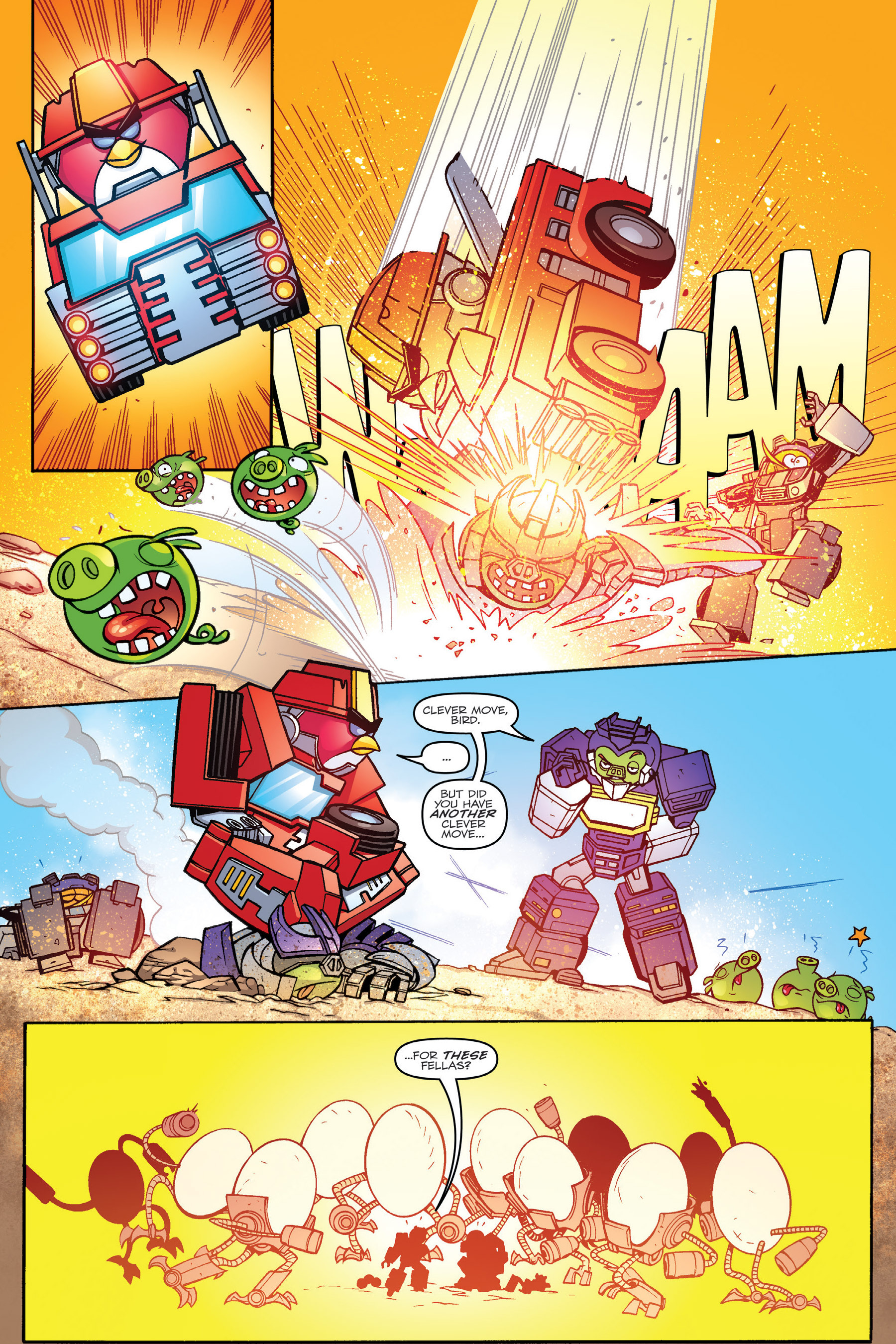 Read online Angry Birds Transformers: Age of Eggstinction comic -  Issue # Full - 62
