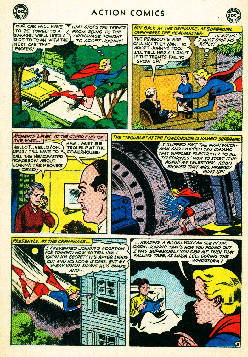 Read online Action Comics (1938) comic -  Issue #263 - 26