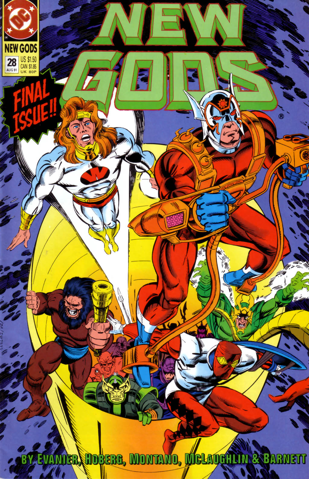 The New Gods (1989) 28 Page 1