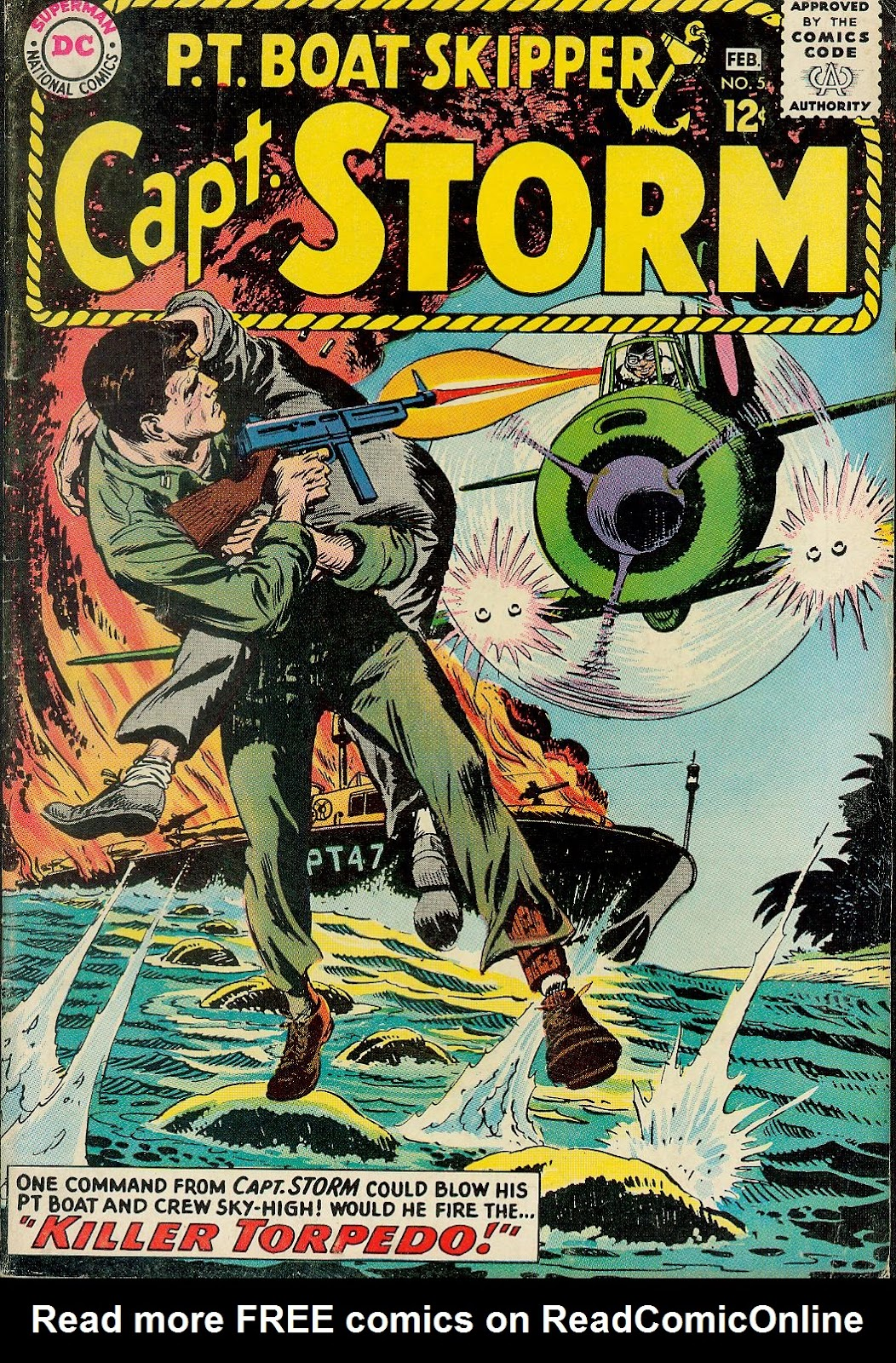 Capt. Storm issue 5 - Page 1