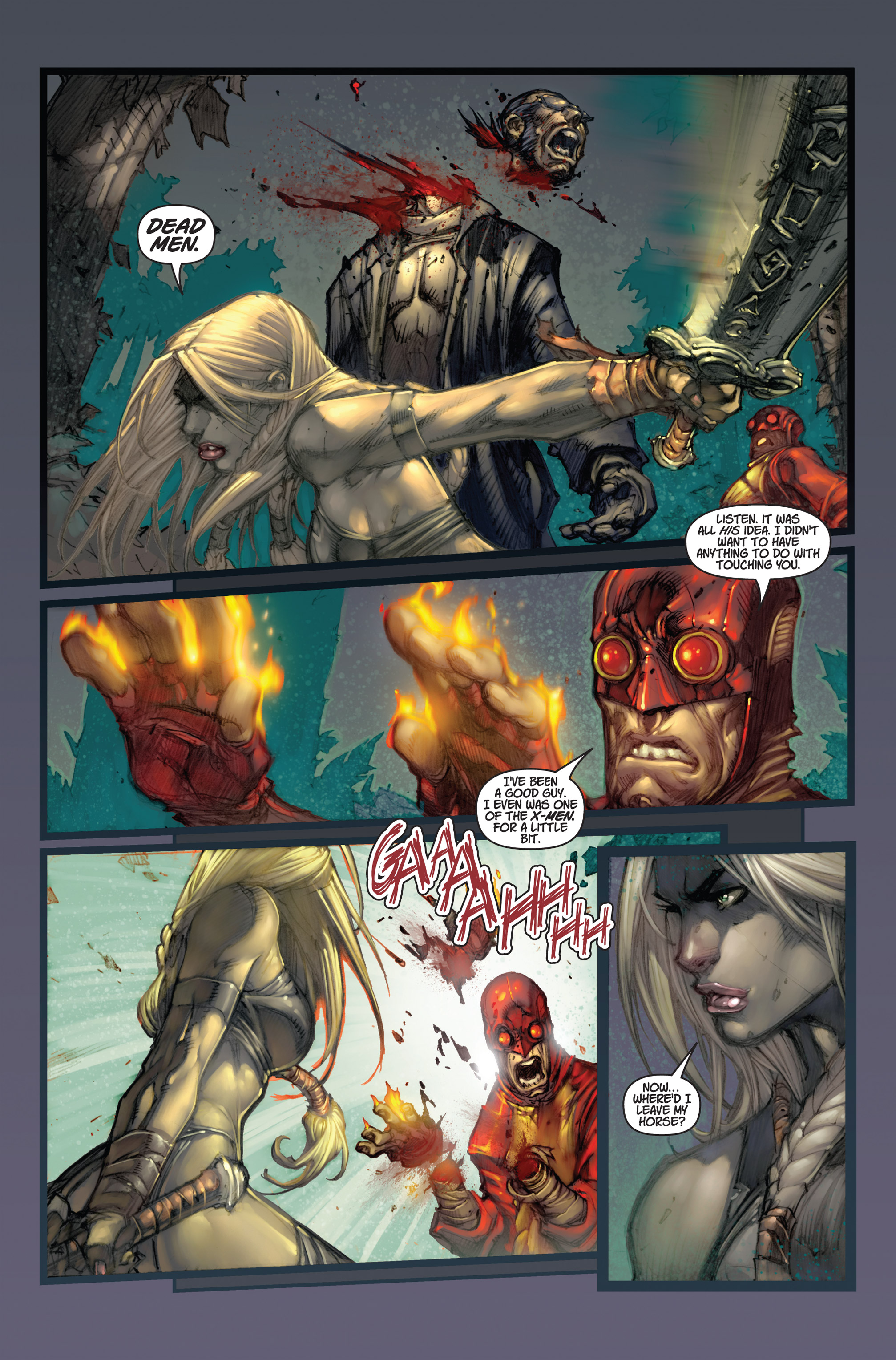 Read online Ultimates 3 comic -  Issue #5 - 13