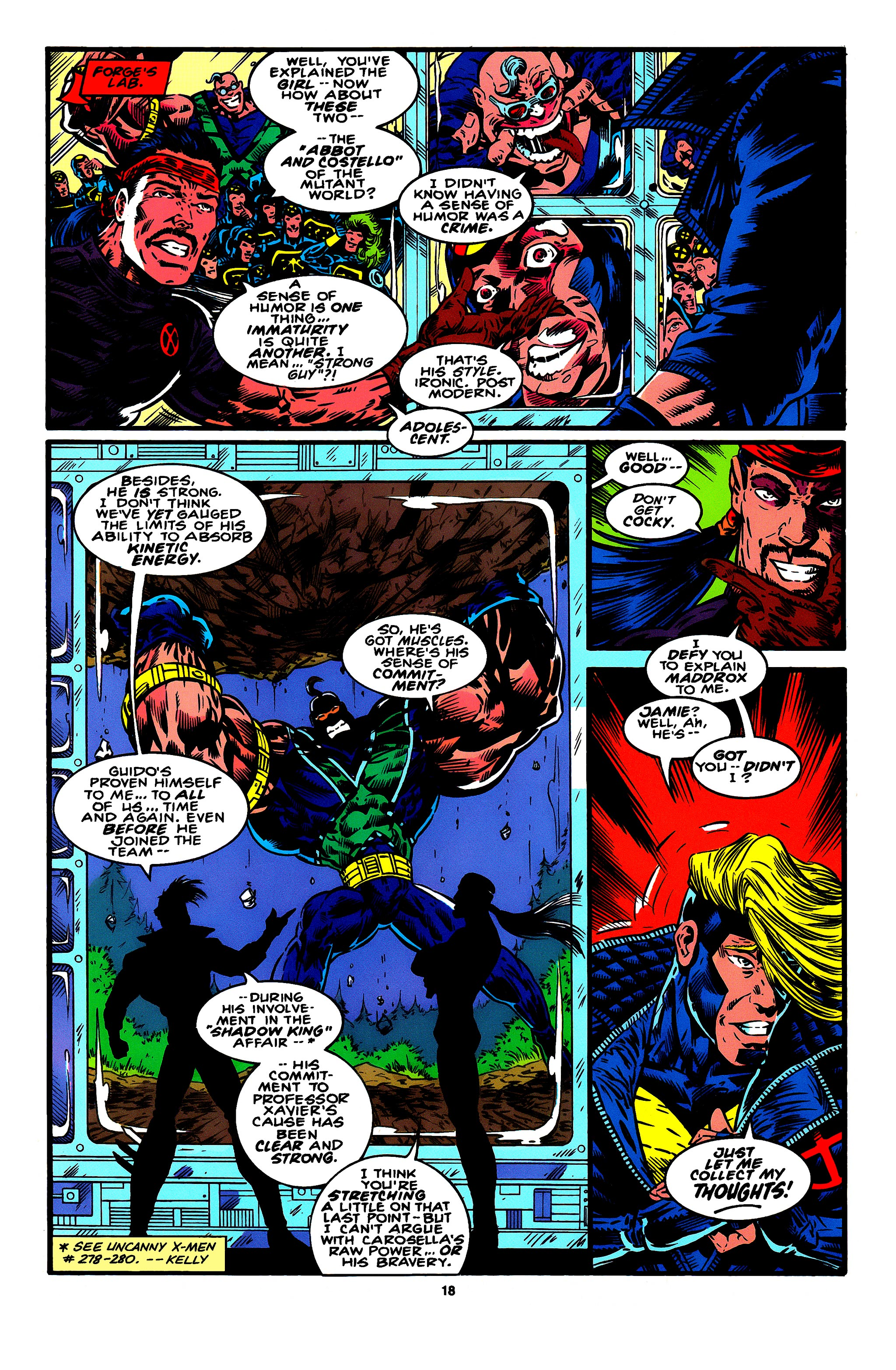 Read online X-Factor (1986) comic -  Issue #95 - 11