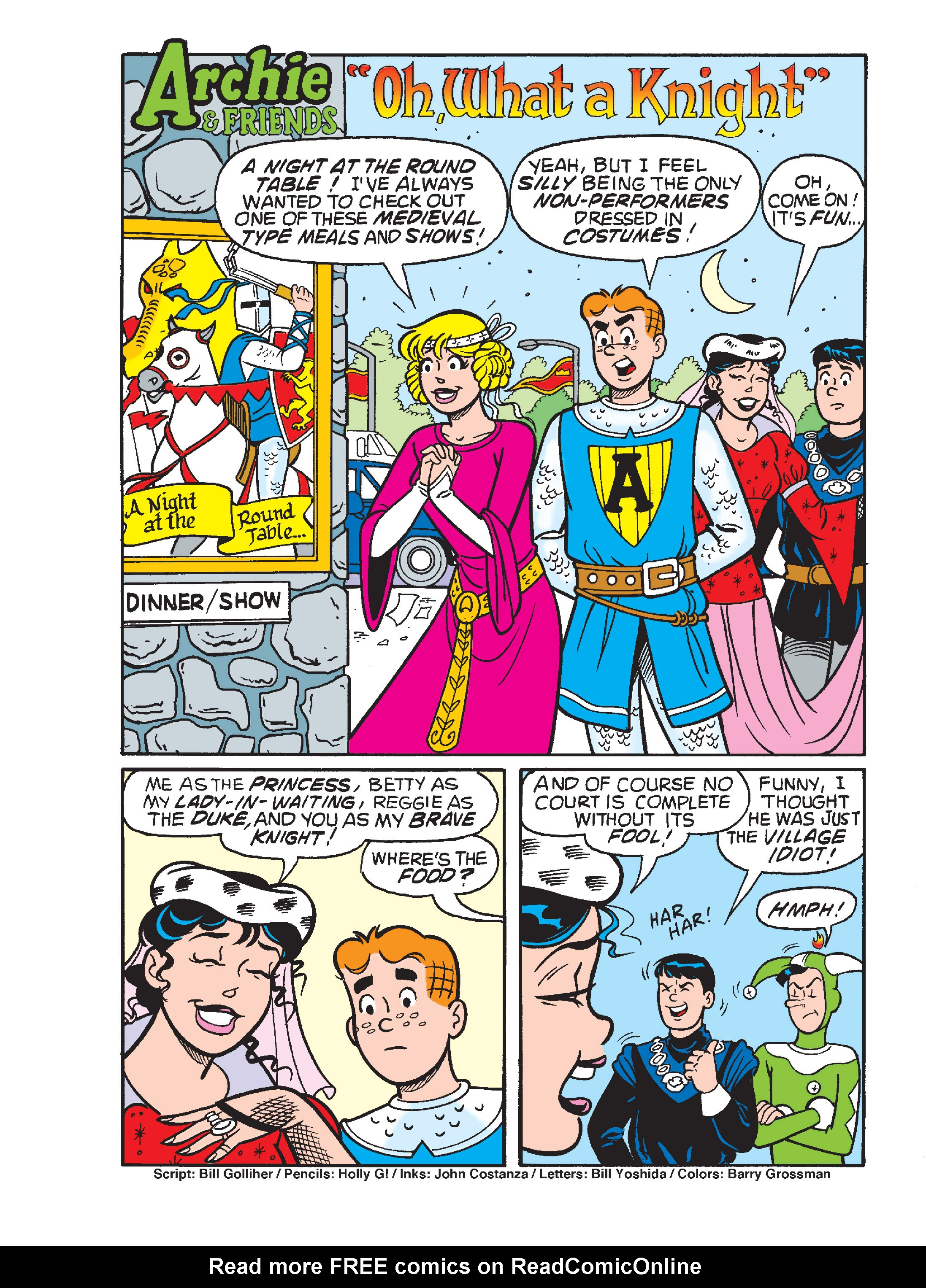 Read online Archie's Funhouse Double Digest comic -  Issue #15 - 228