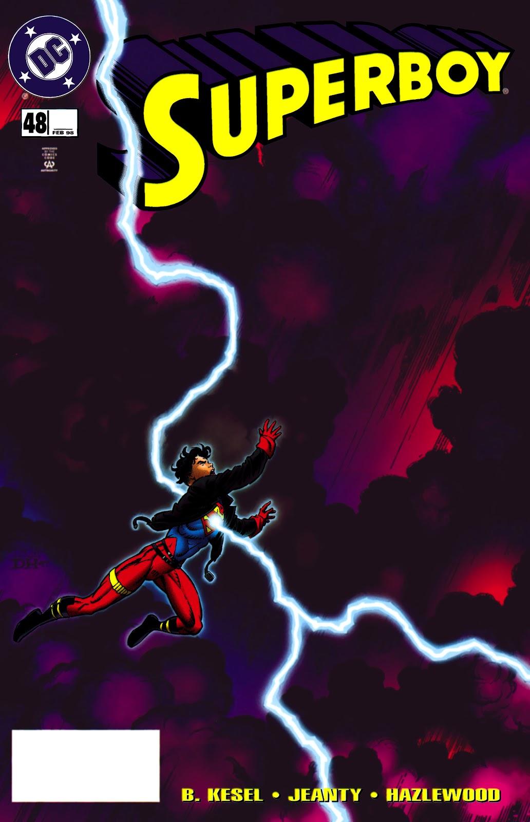 Superboy (1994) 48 Page 1