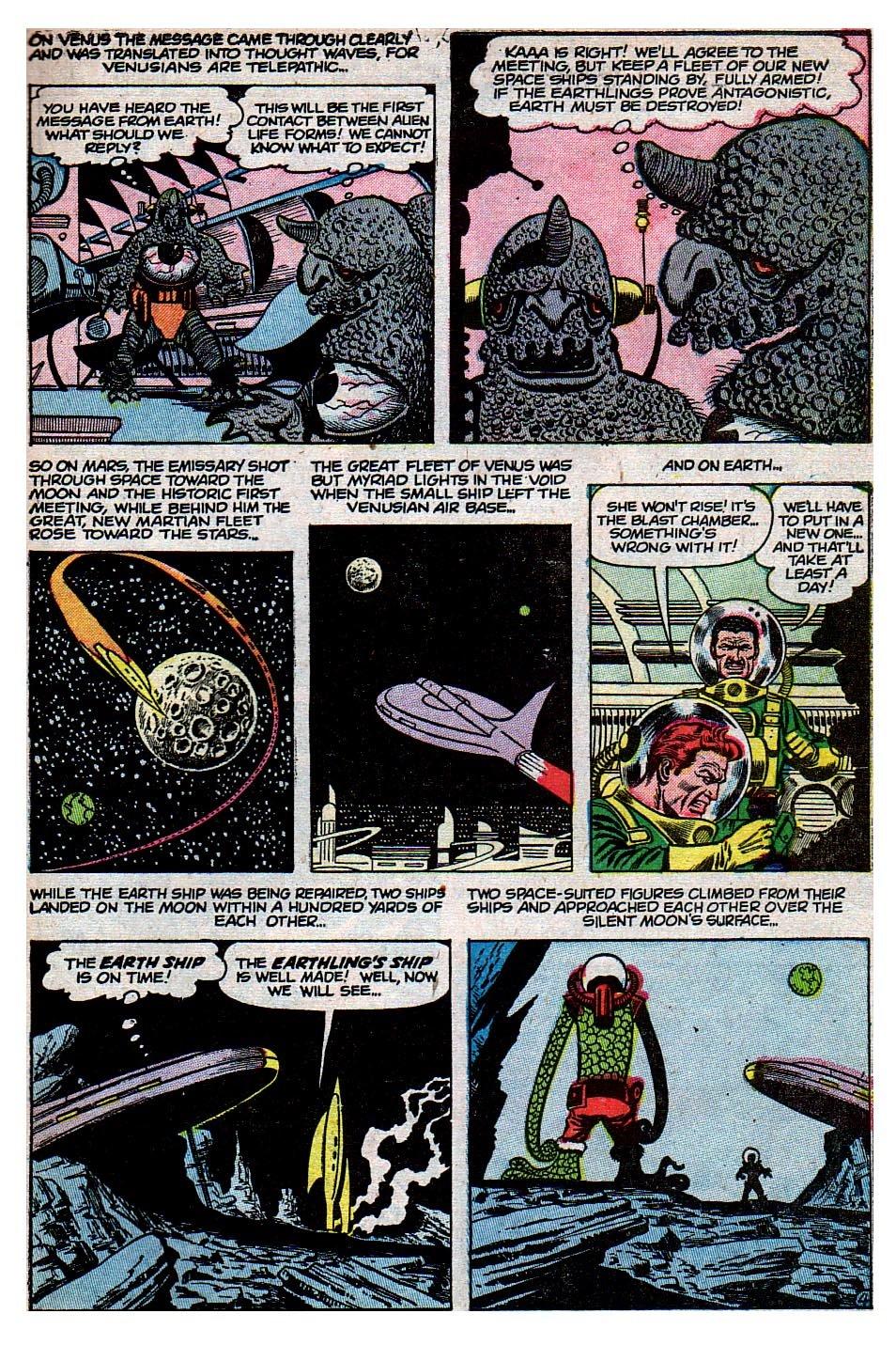 Read online Adventures into Weird Worlds comic -  Issue #30 - 23