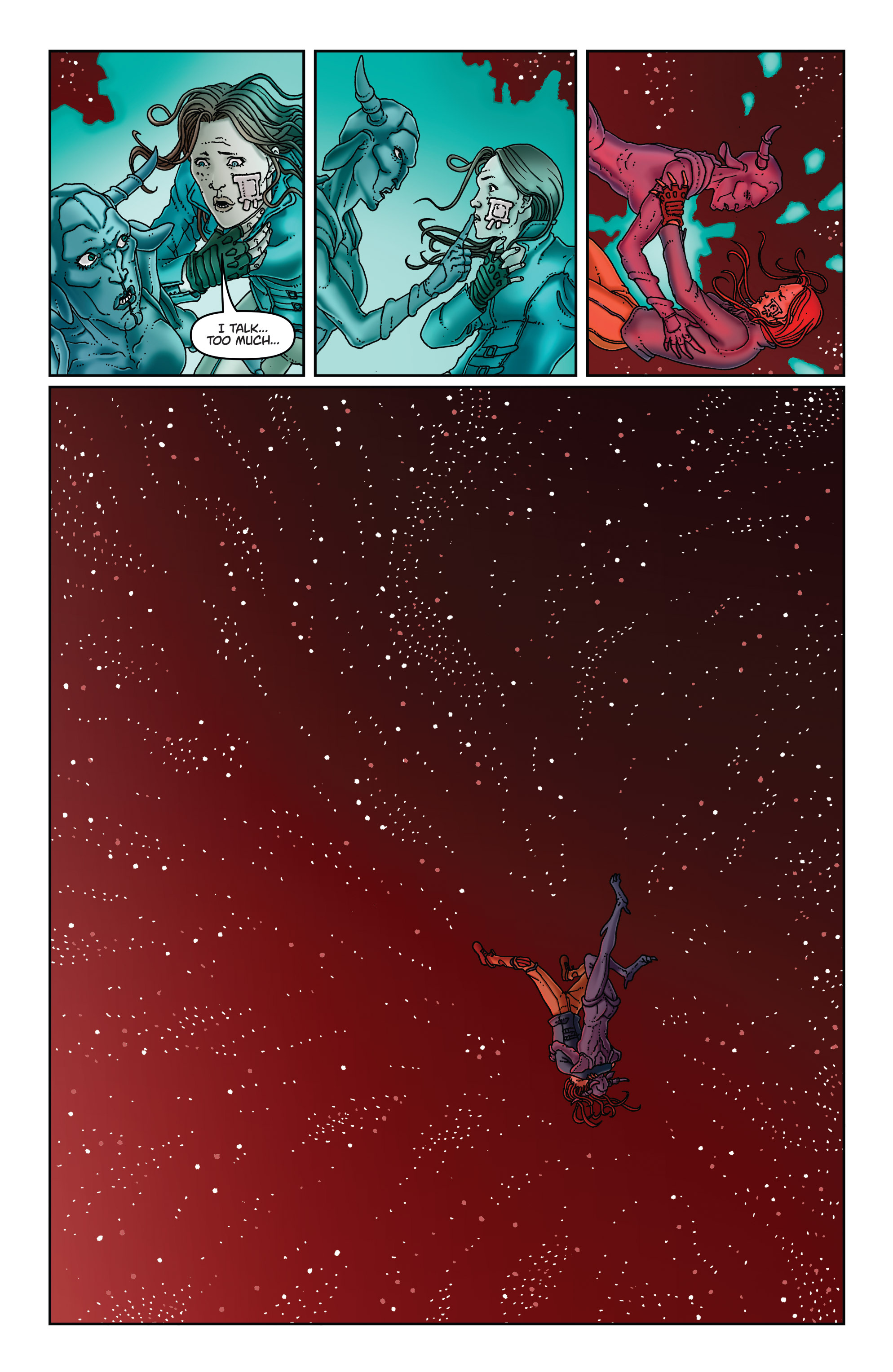 Read online Satellite Falling comic -  Issue #5 - 9