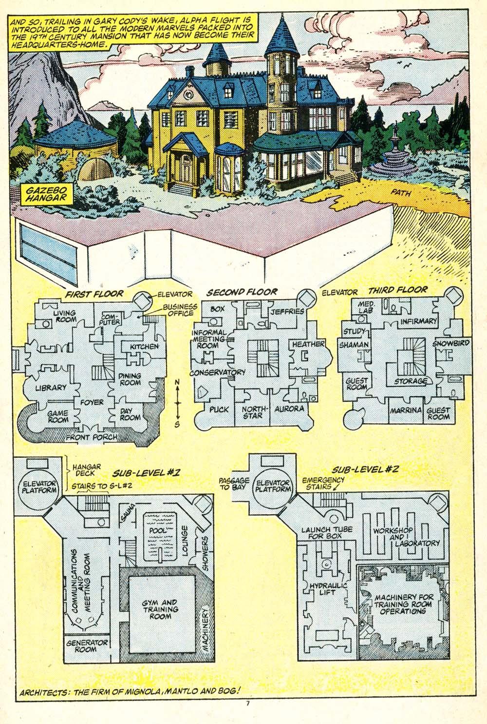 Read online Alpha Flight (1983) comic -  Issue #30 - 8