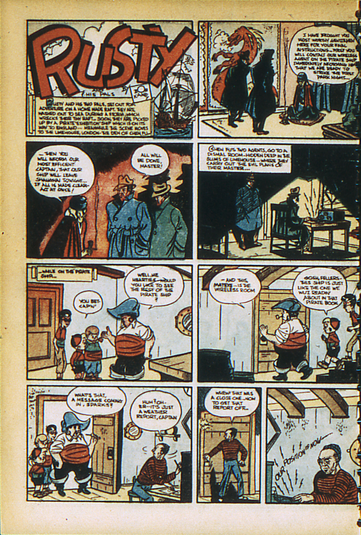 Read online Adventure Comics (1938) comic -  Issue #27 - 16