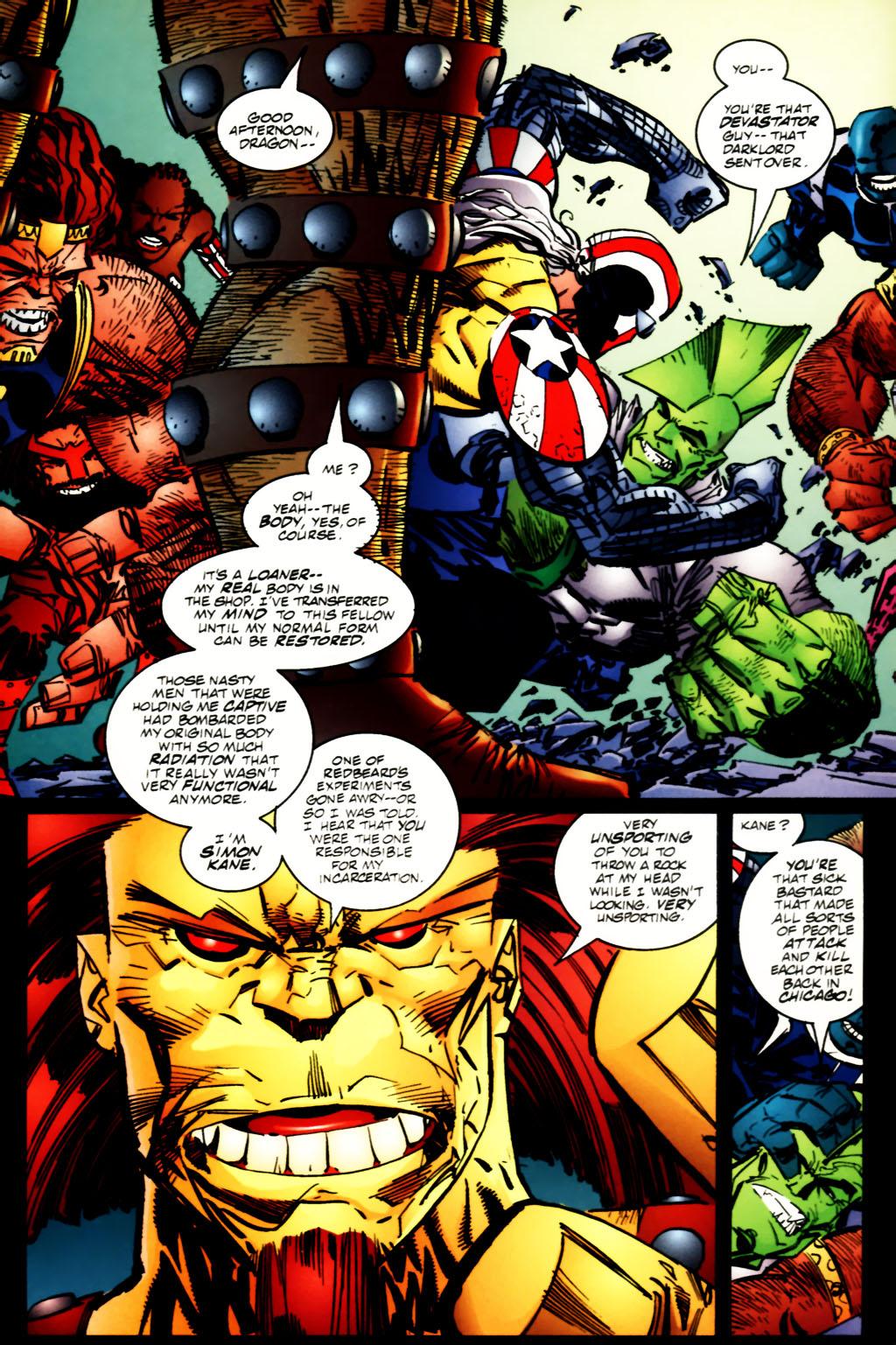 The Savage Dragon (1993) Issue #60 #63 - English 12