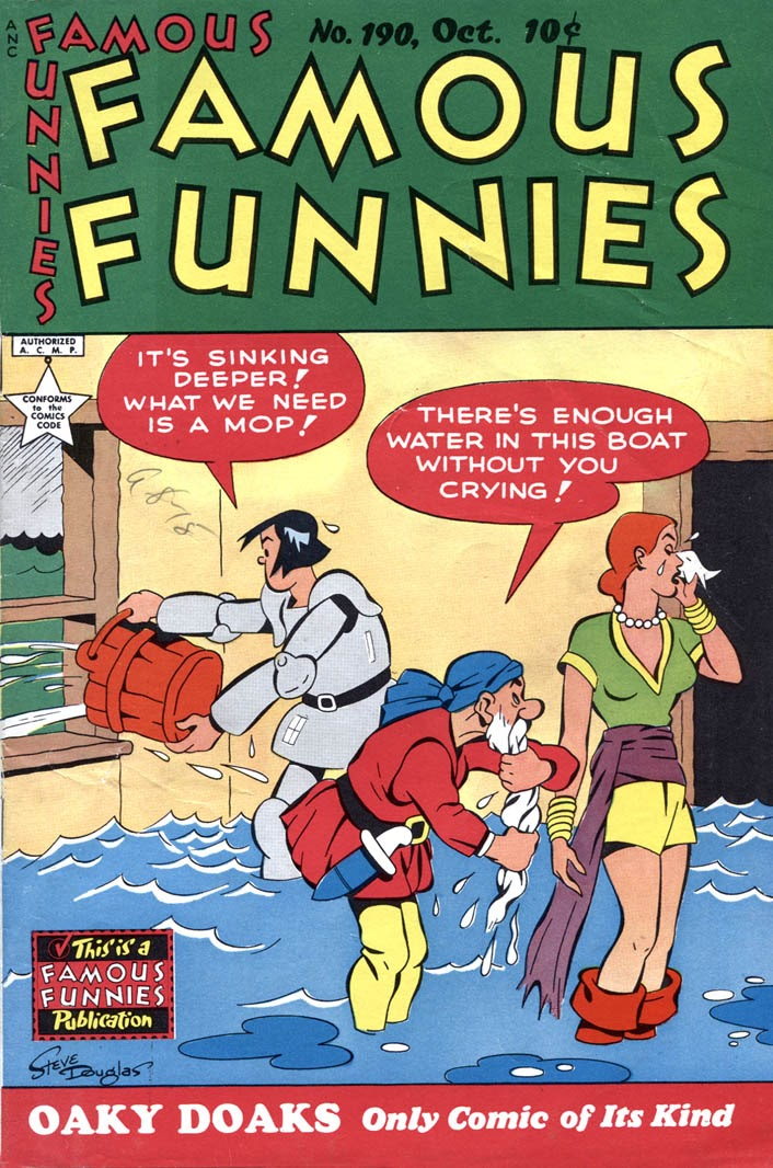 Read online Famous Funnies comic -  Issue #190 - 1