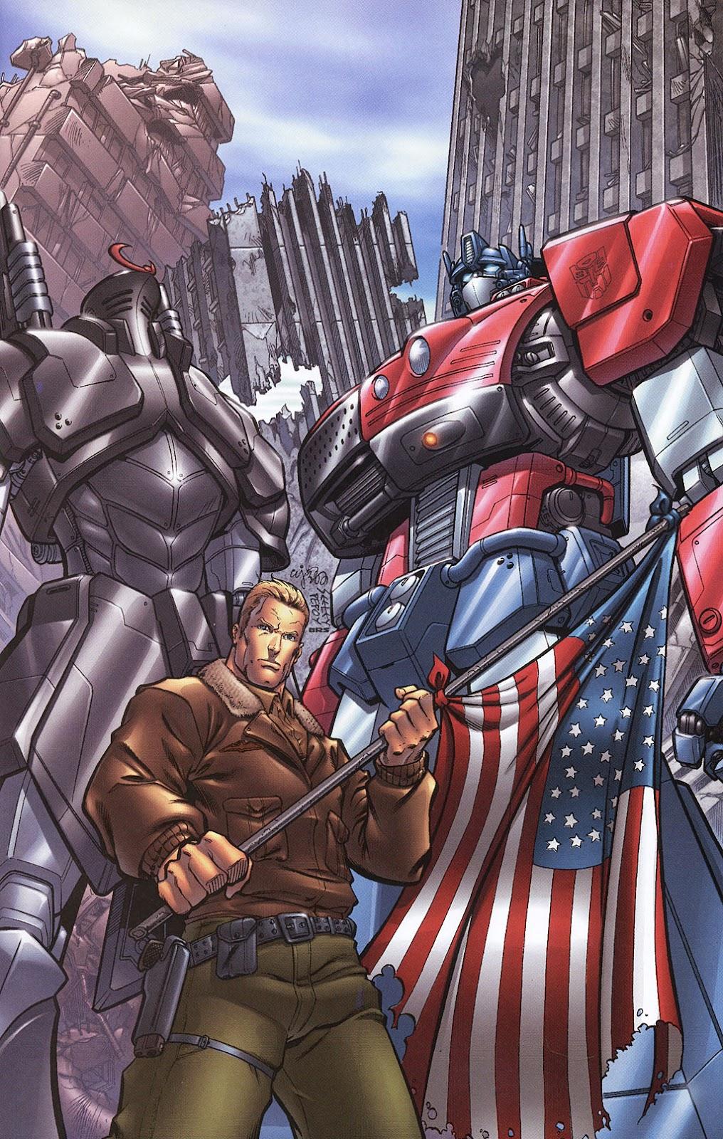 G.I. Joe vs. The Transformers II Issue #0 #1 - English 17