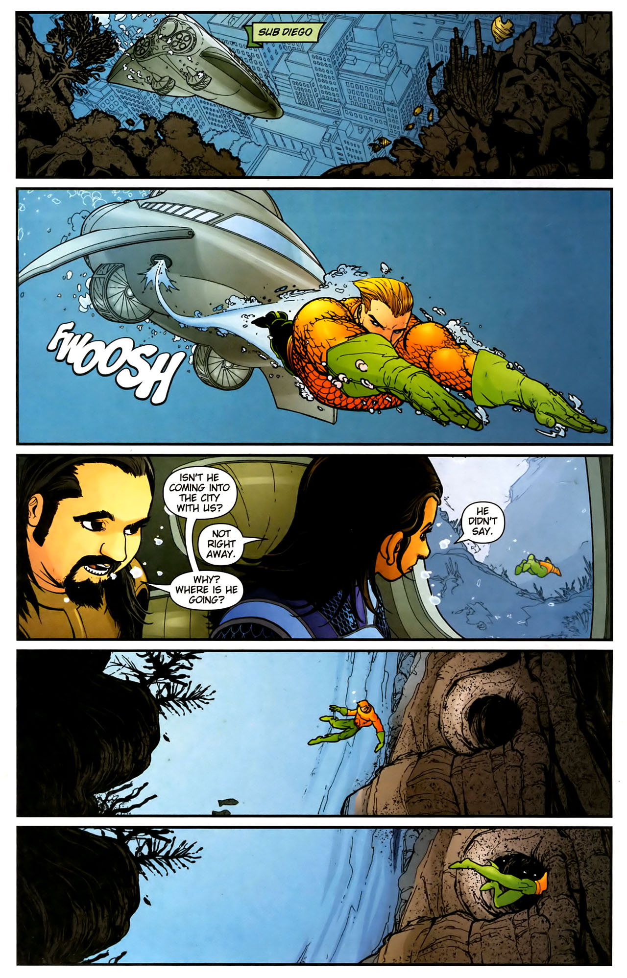 Read online Aquaman (2003) comic -  Issue #39 - 2