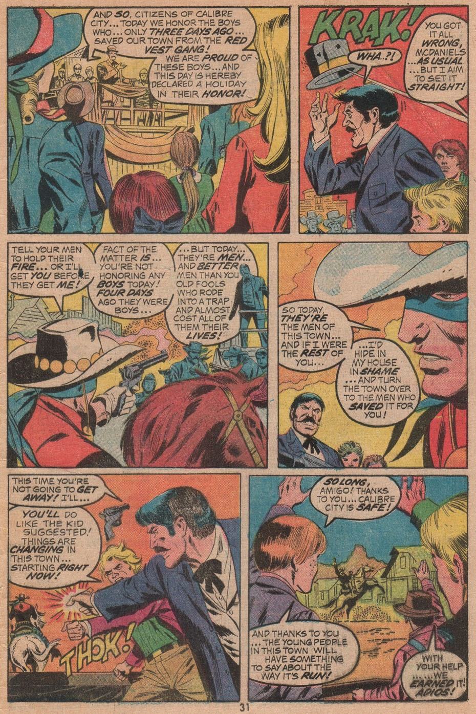 The Outlaw Kid (1970) issue 14 - Page 33