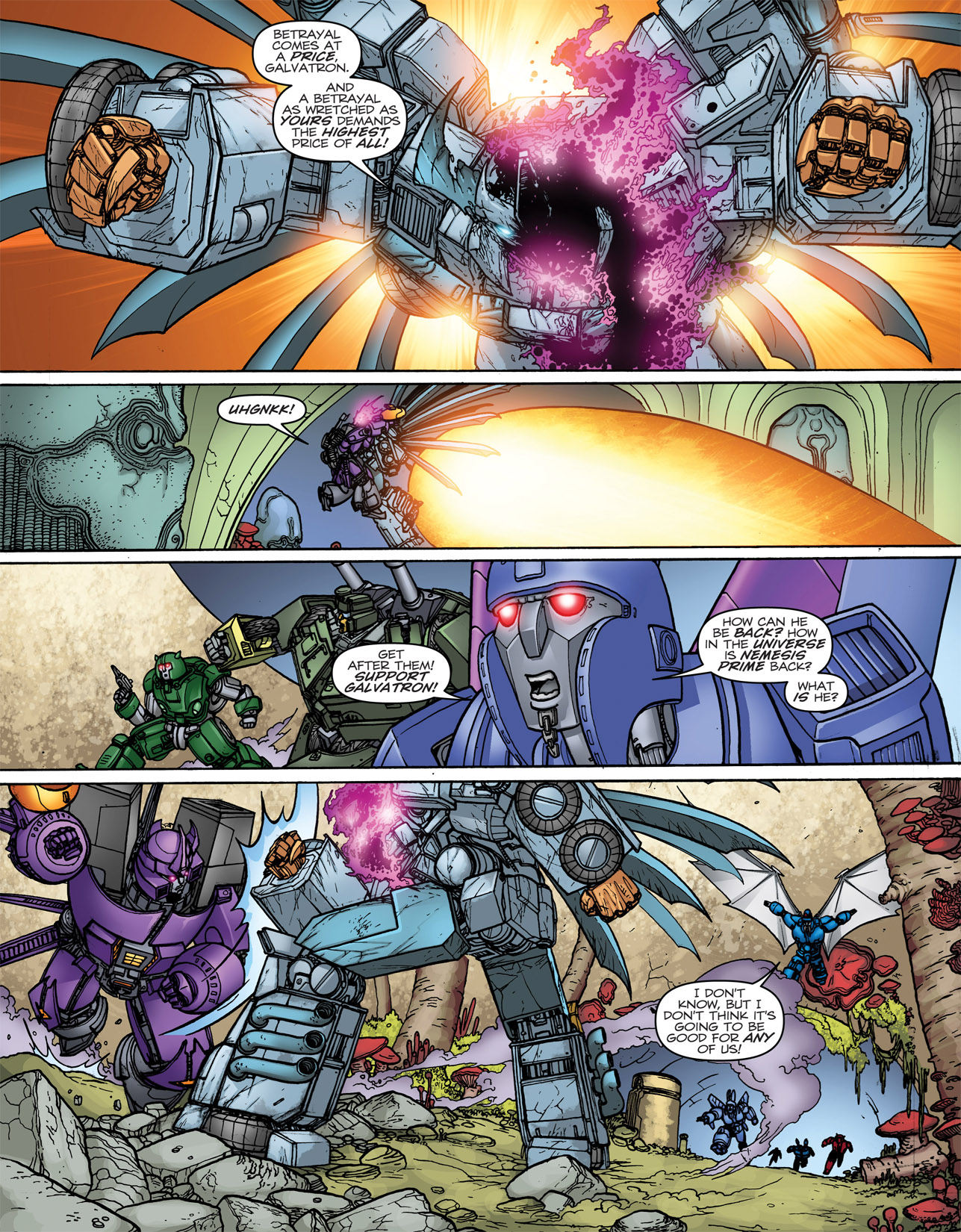 Read online Transformers: Heart of Darkness comic -  Issue #4 - 8