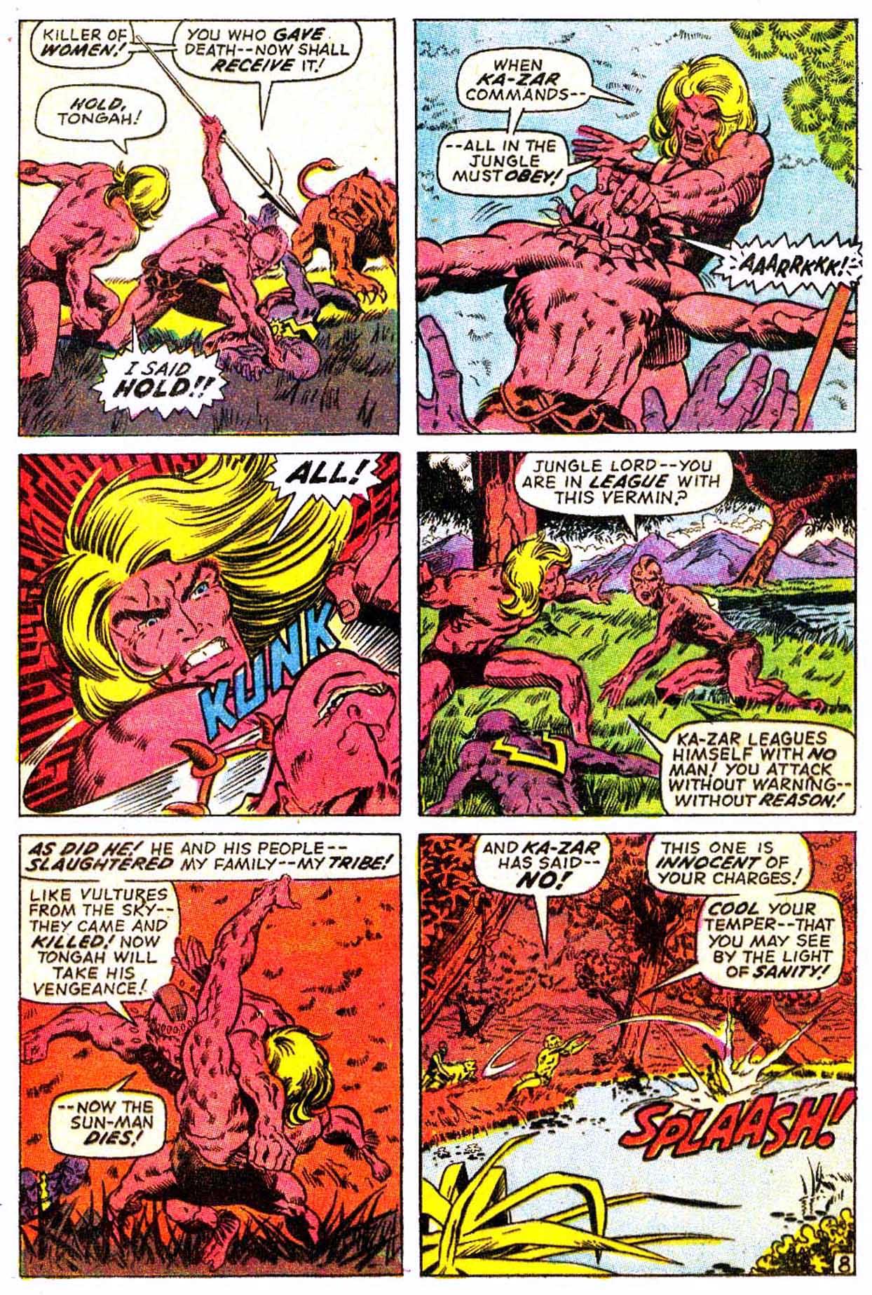 Read online Astonishing Tales (1970) comic -  Issue #3 - 19