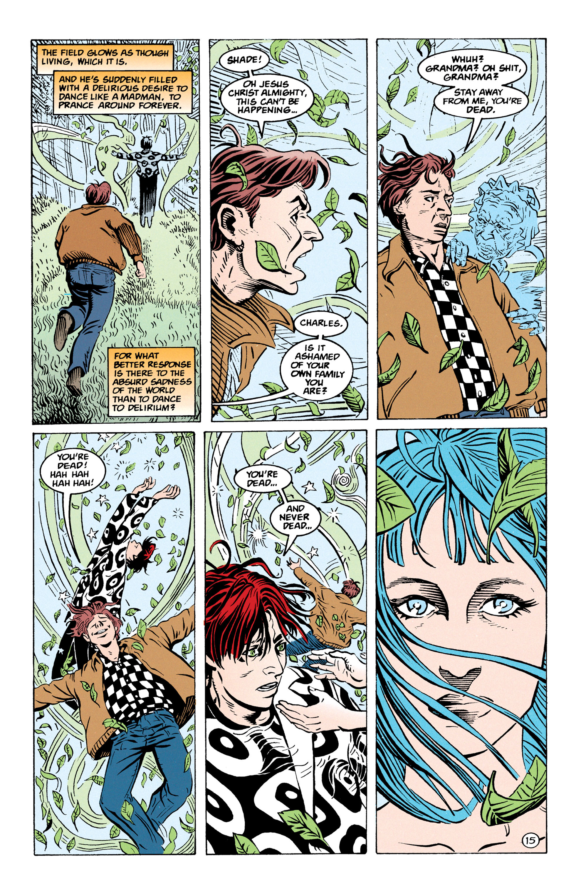 Read online Shade, the Changing Man comic -  Issue #67 - 16
