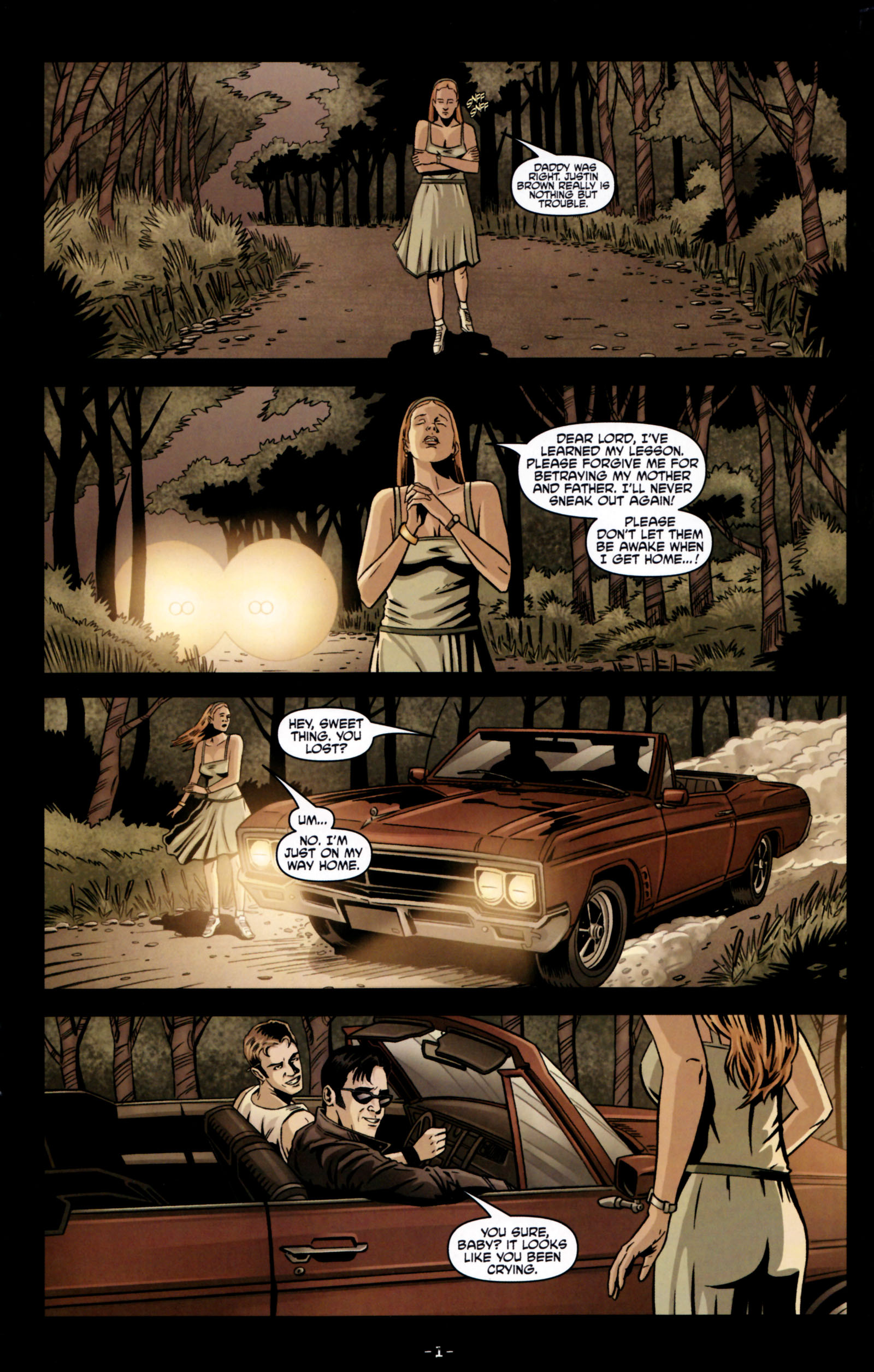 Read online True Blood: Tainted Love comic -  Issue #5 - 4