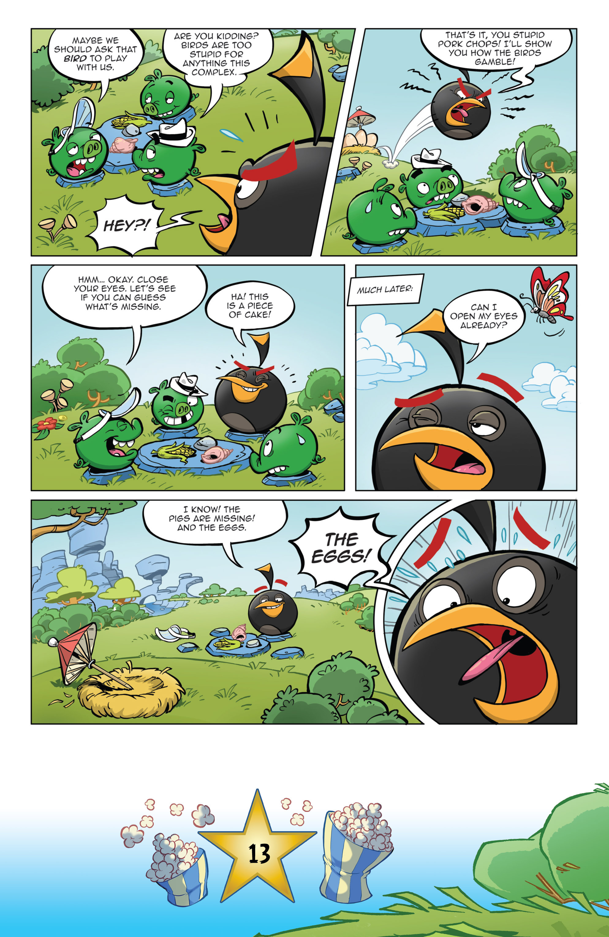 Read online Angry Birds Comics (2016) comic -  Issue #5 - 15