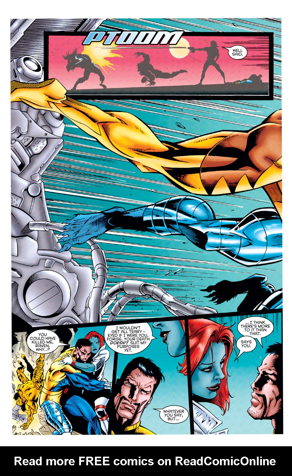 Read online X-Factor (1986) comic -  Issue #125 - 33