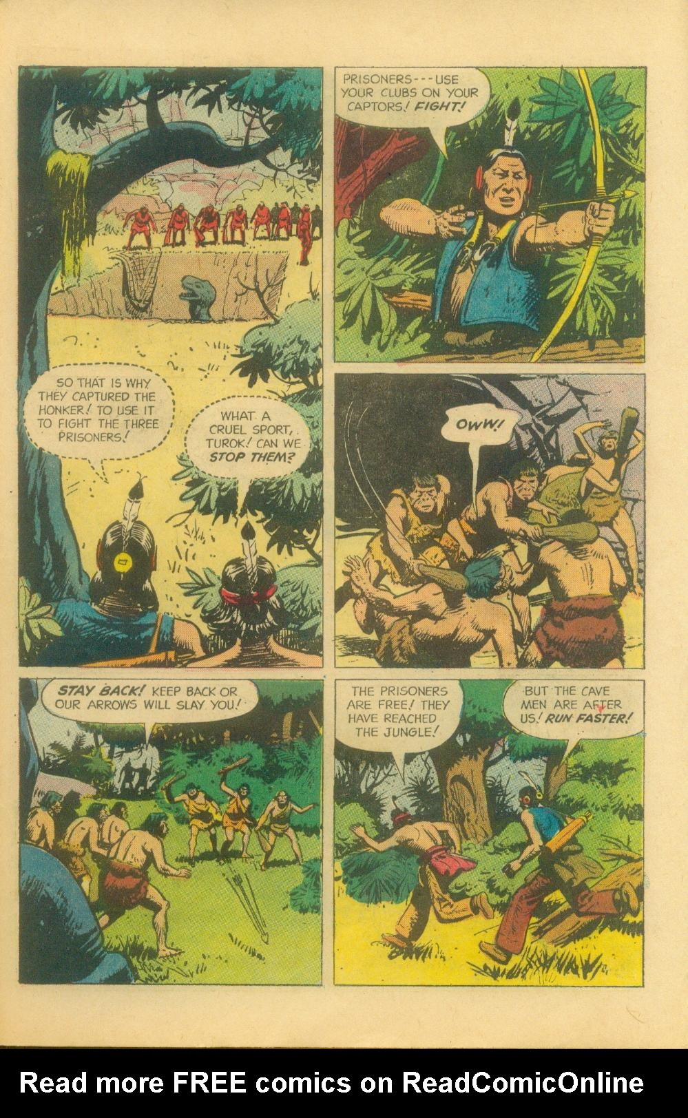 Read online Turok, Son of Stone comic -  Issue #29 - 27