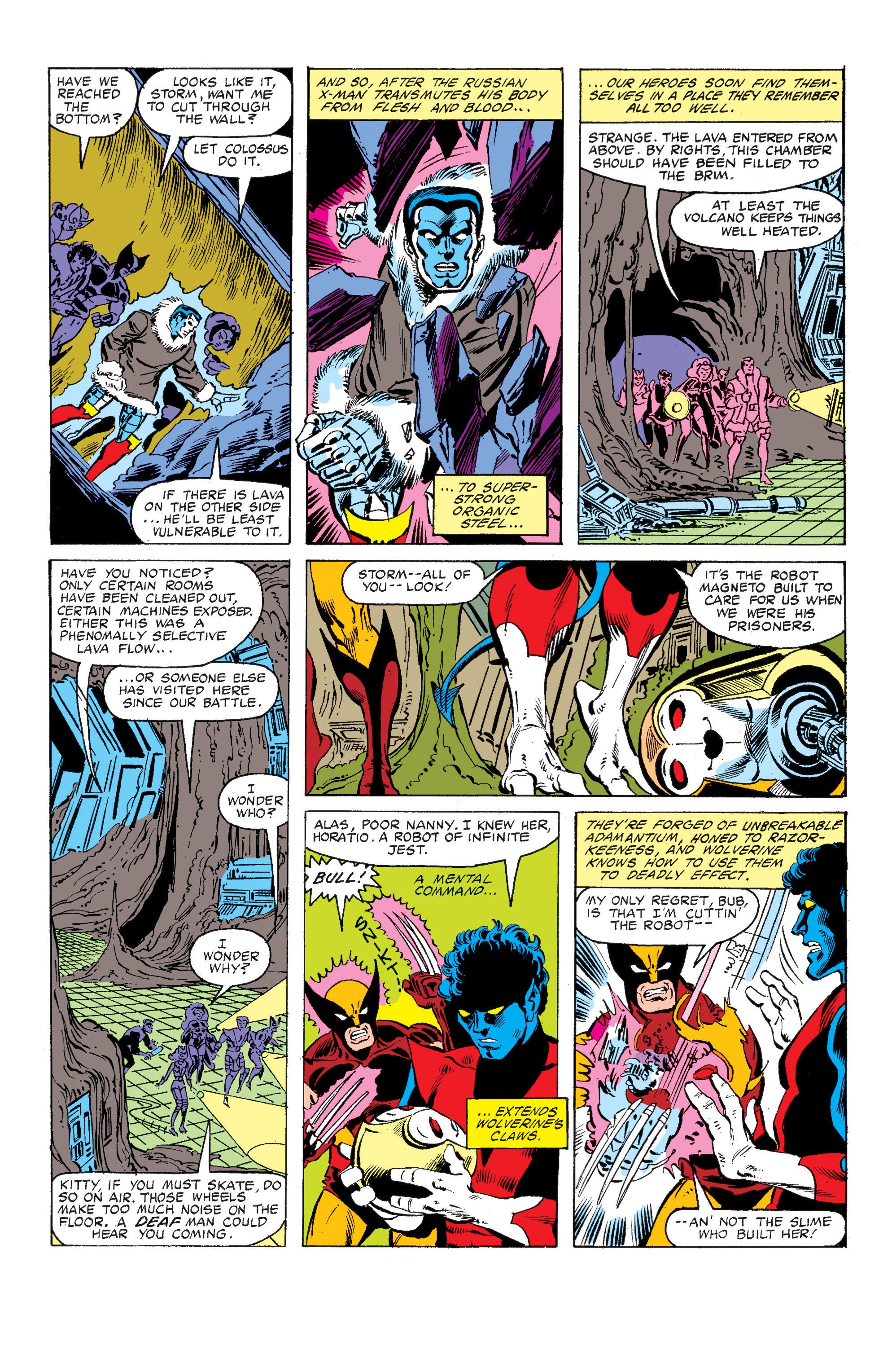 Read online Uncanny X-Men (1963) comic -  Issue #149 - 10