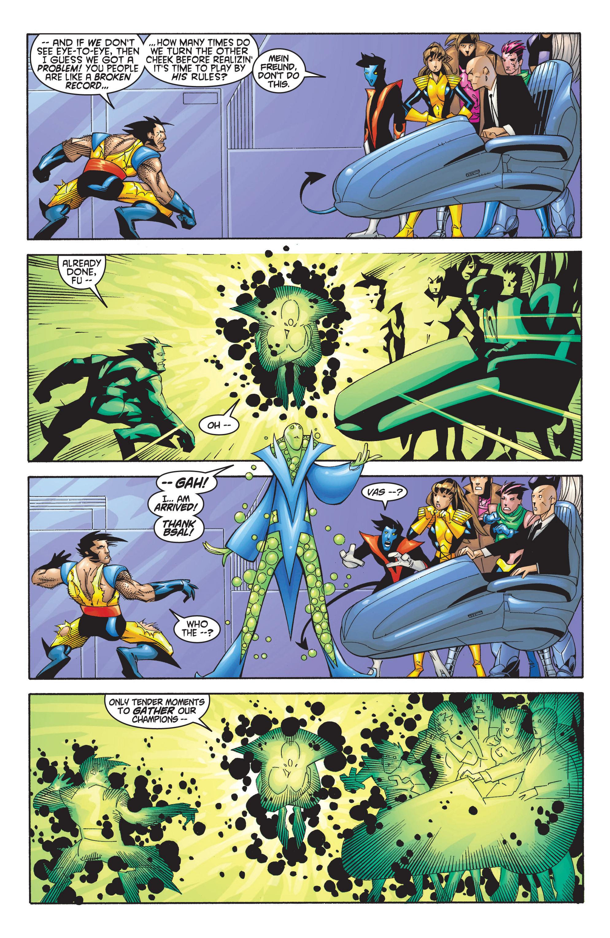 Read online Uncanny X-Men (1963) comic -  Issue #368 - 19