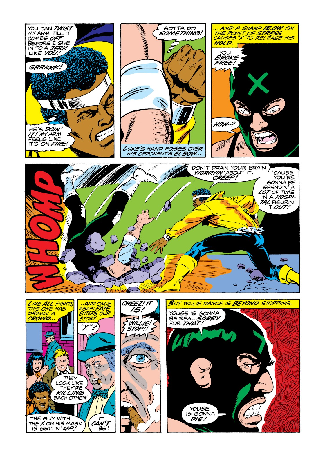 Read online Marvel Masterworks: Luke Cage, Power Man comic -  Issue # TPB 2 (Part 3) - 16