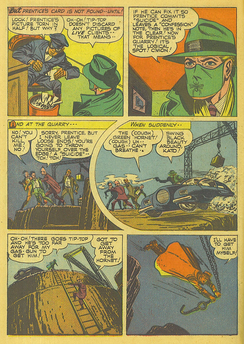 Green Hornet Comics issue 32 - Page 13