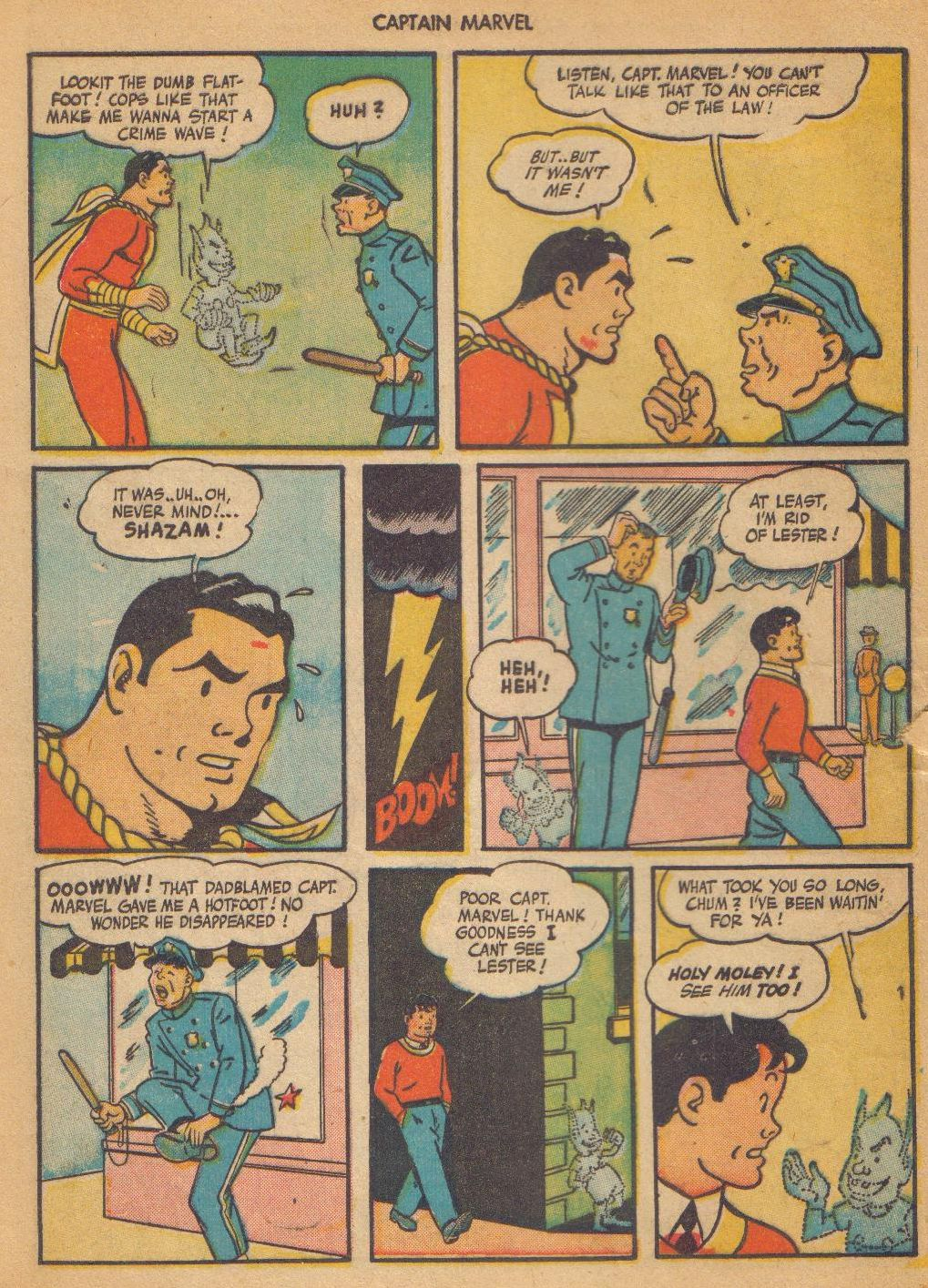 Captain Marvel Adventures issue 64 - Page 8