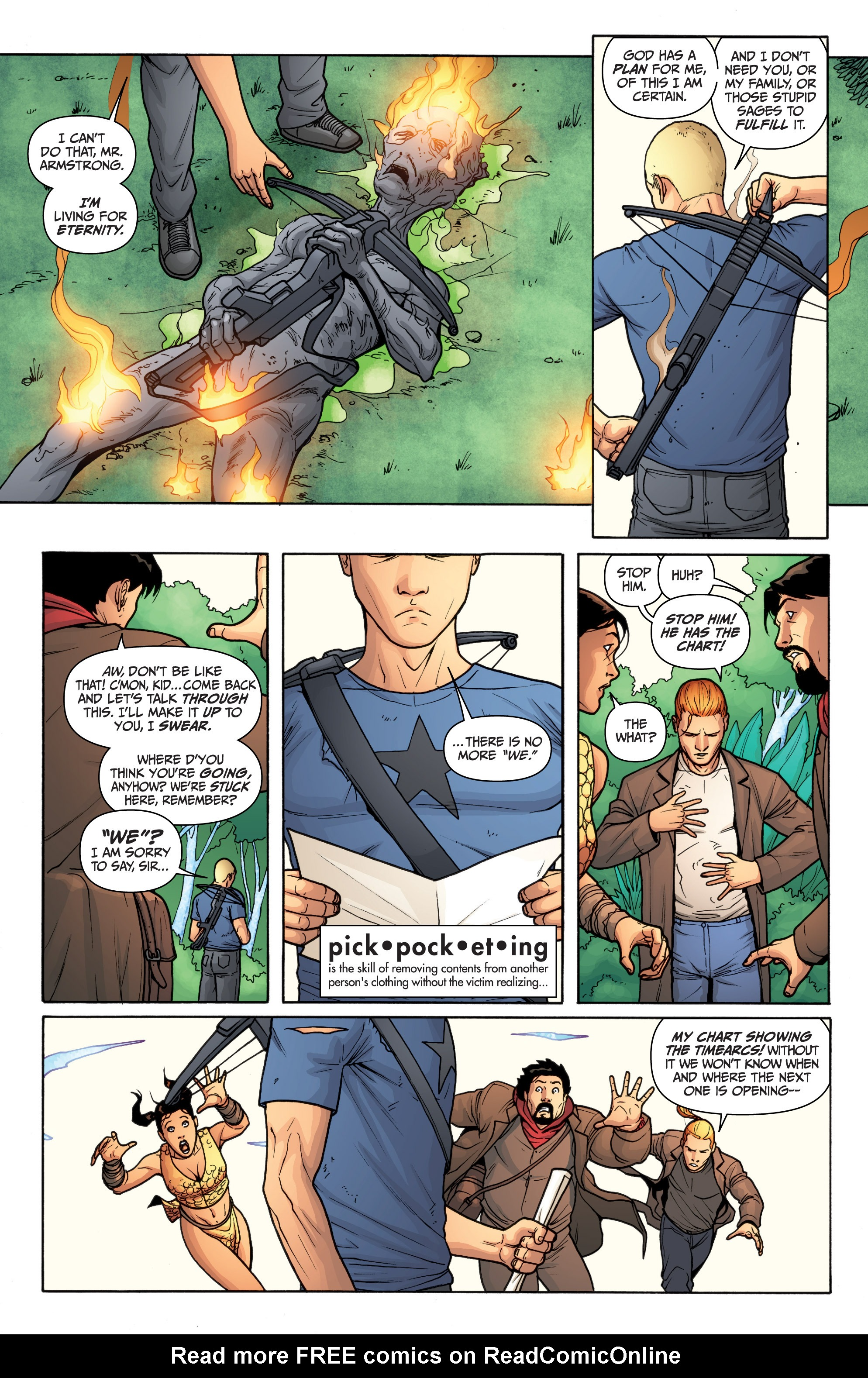 Read online Archer and Armstrong comic -  Issue #Archer and Armstrong _TPB 3 - 116